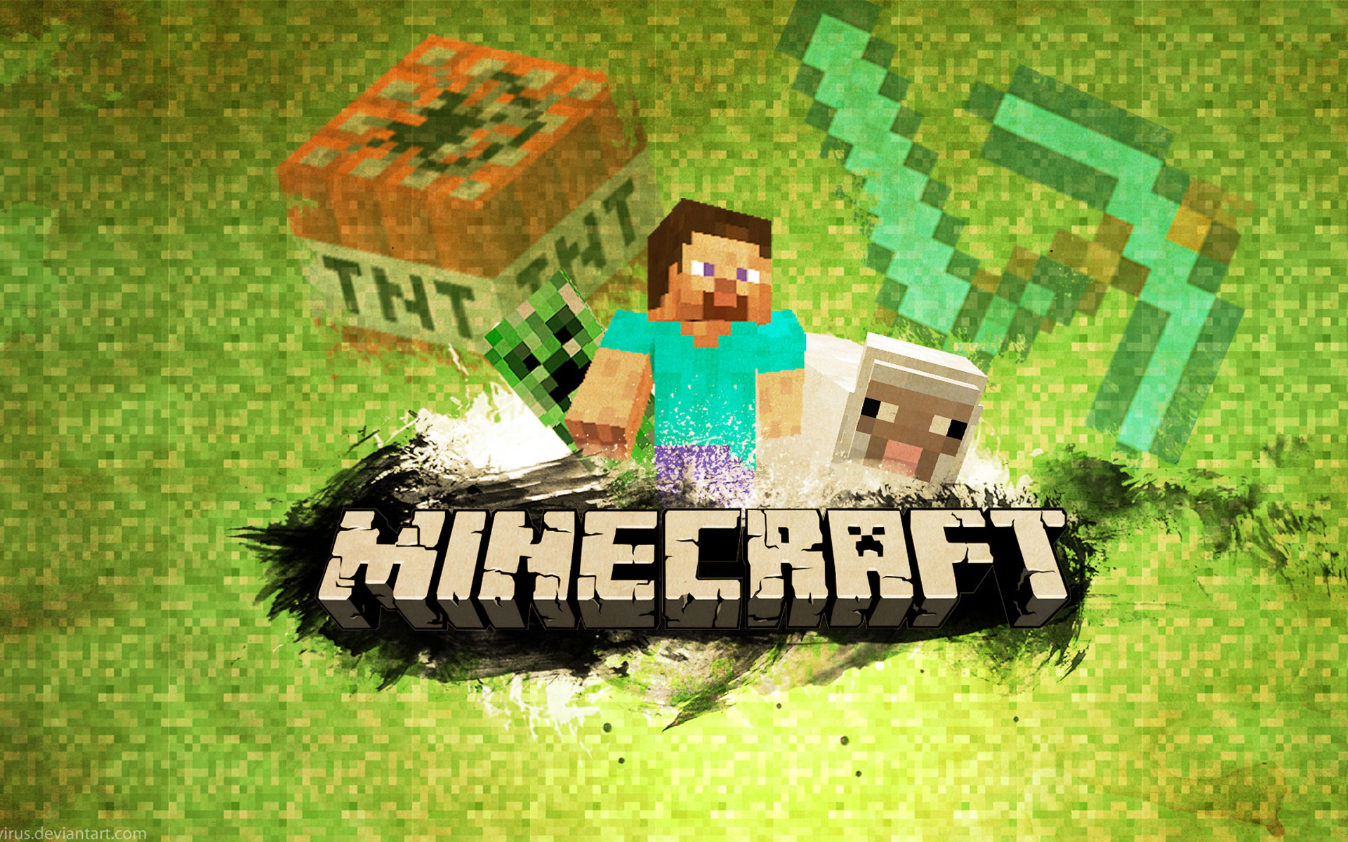 Minecraft Cool wallpaper