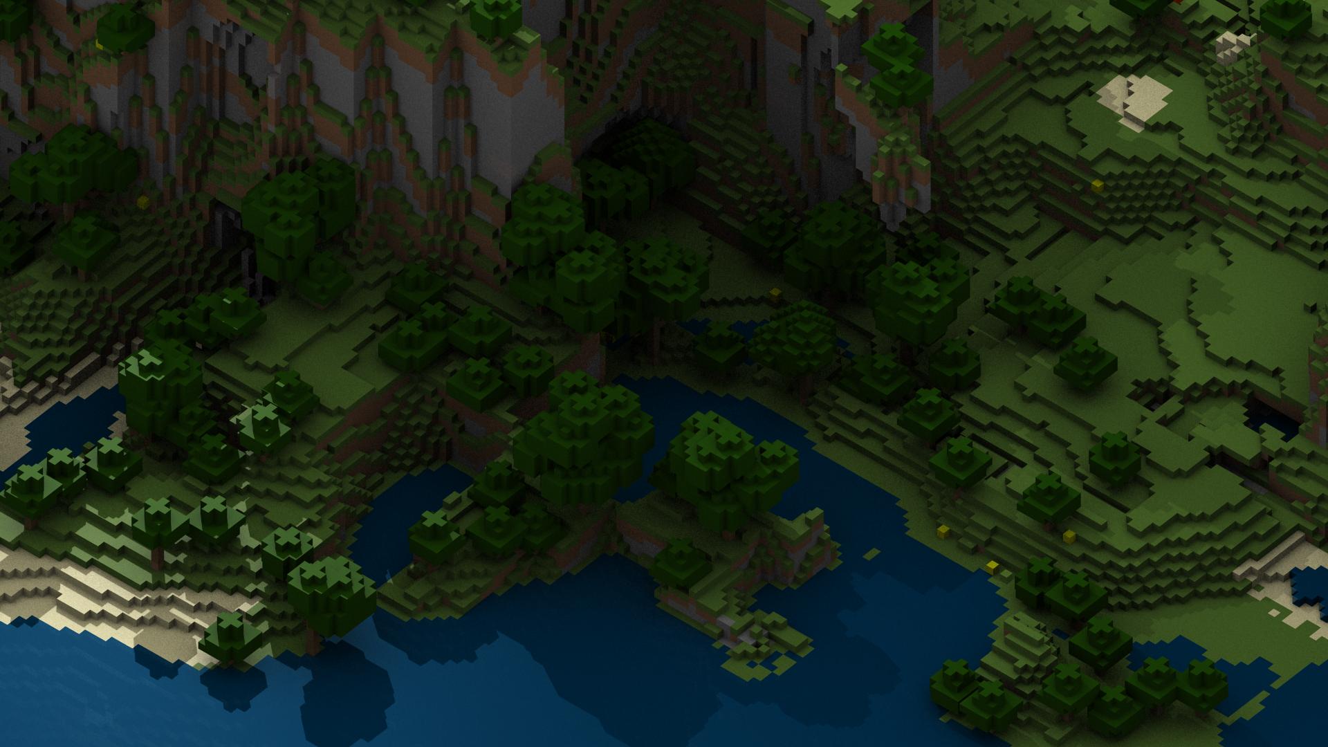 Simple Wallpaper Minecraft Forest - minecraft-wallpaper-hd-1920x1080  Snapshot_168498.png