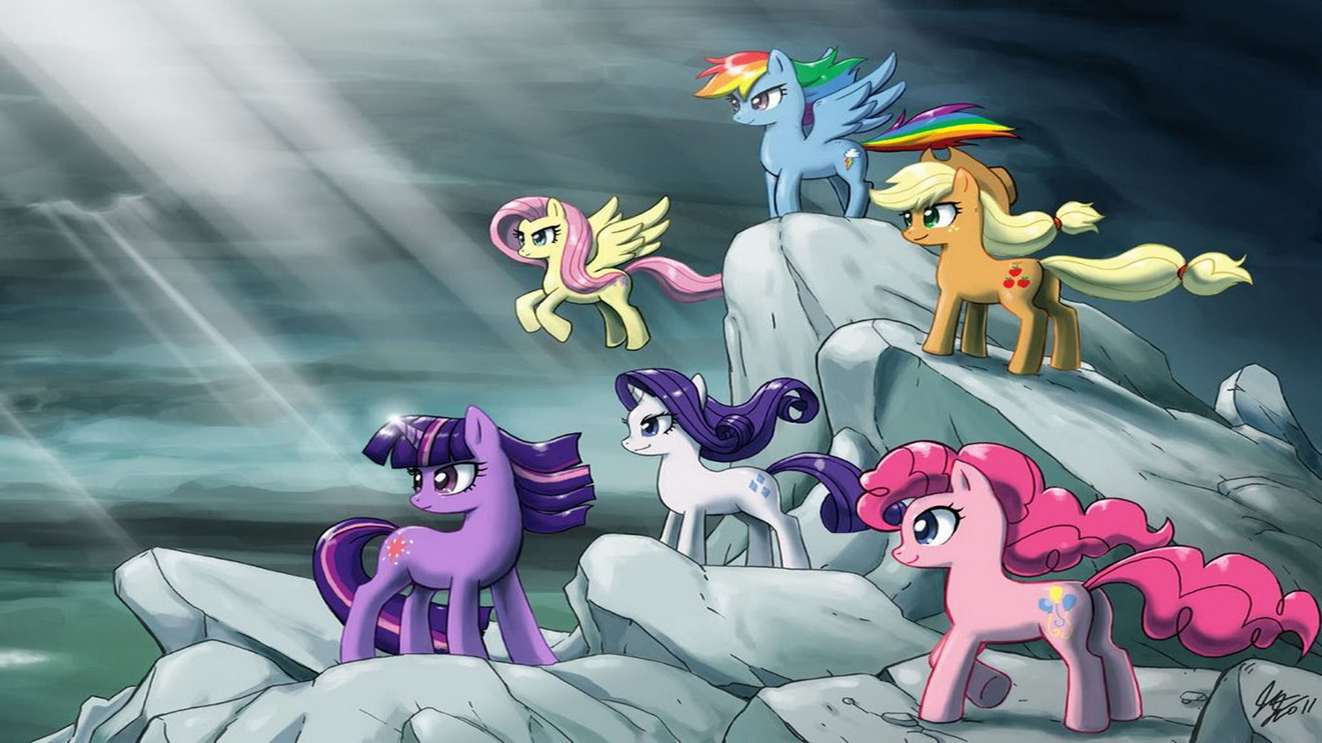 My Little Pony Friendship Is Magic Epic Hd Wallpaper