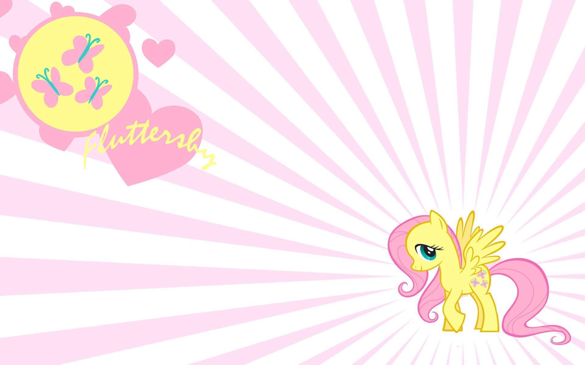 my little pony friendship is magic fluttershy hd wallpaper