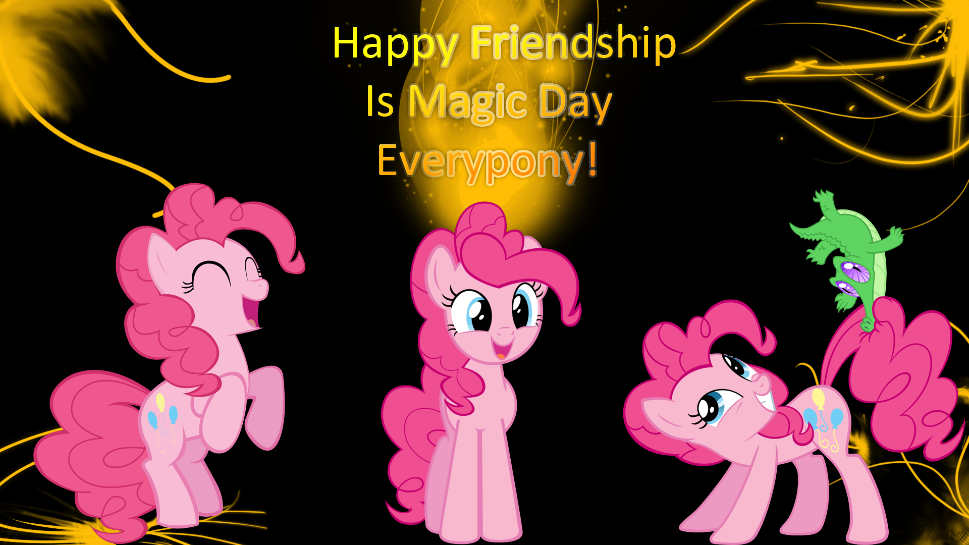 My Little Pony Friendship Is Magic Pinkie Pie 9086 Hd Wallpaper