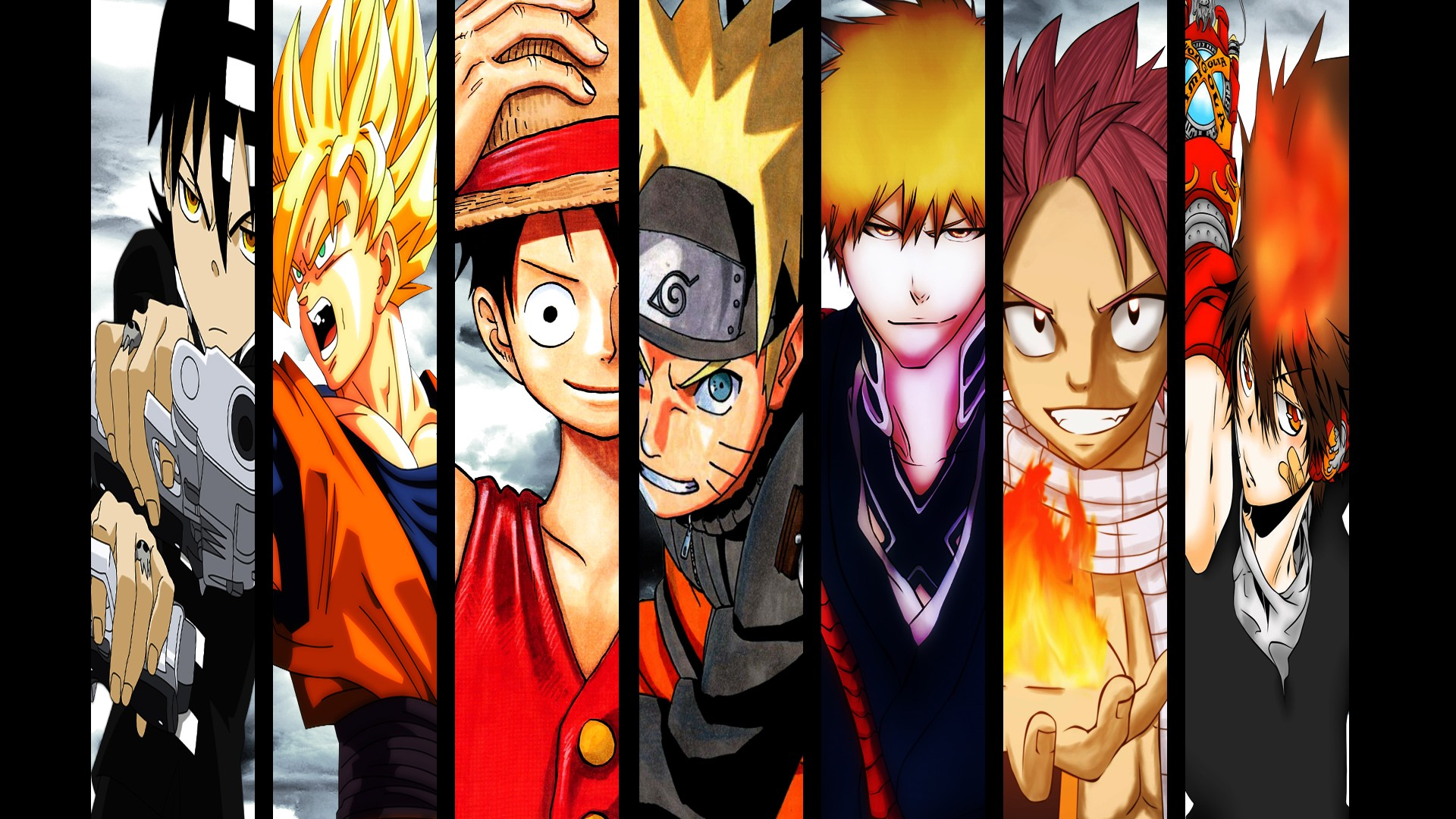 Naruto wallpapers and desktop backgrounds up to 8k - Dragon ball one piece ...