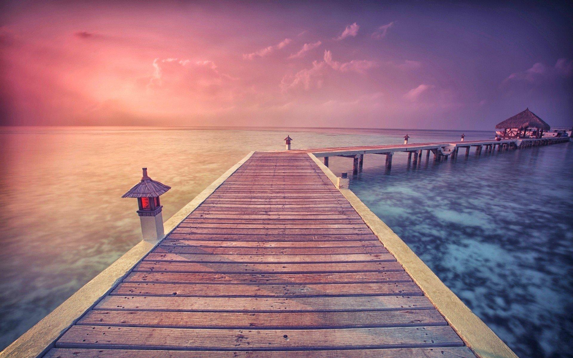 pier to paradise wallpaper - photo #21