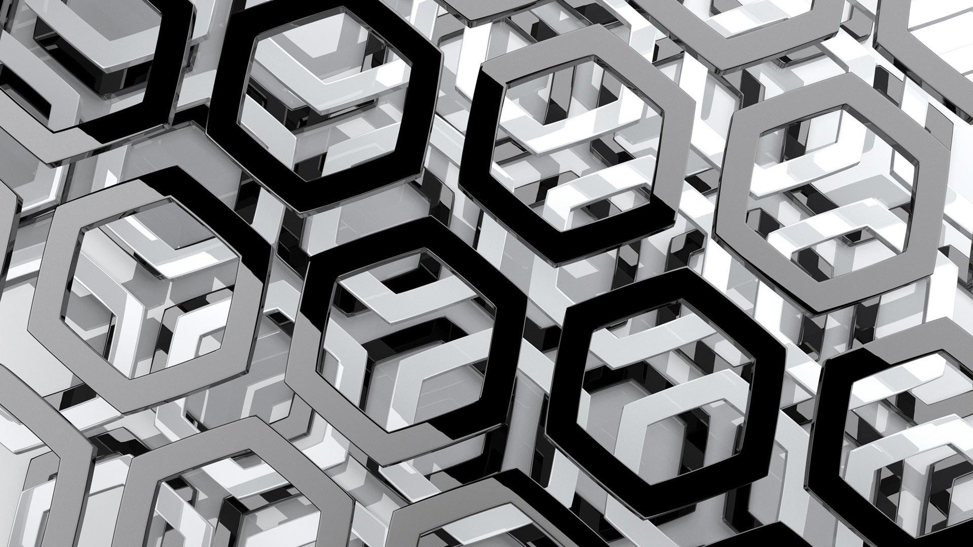3d hexagon pattern stock vector image 54997696 - 3d Hexagon Pattern Stock Vector Image 54997696 38