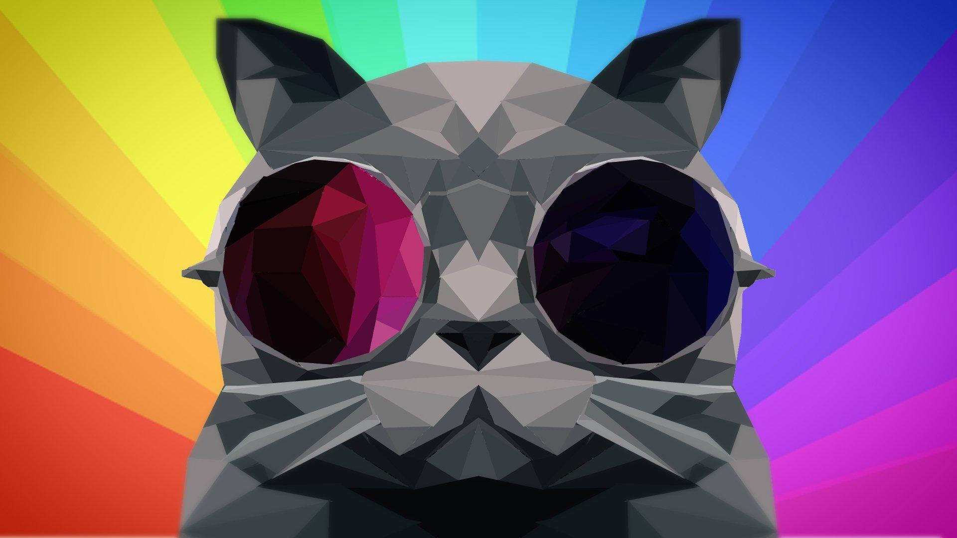 rainbow cat wallpapers - photo #29