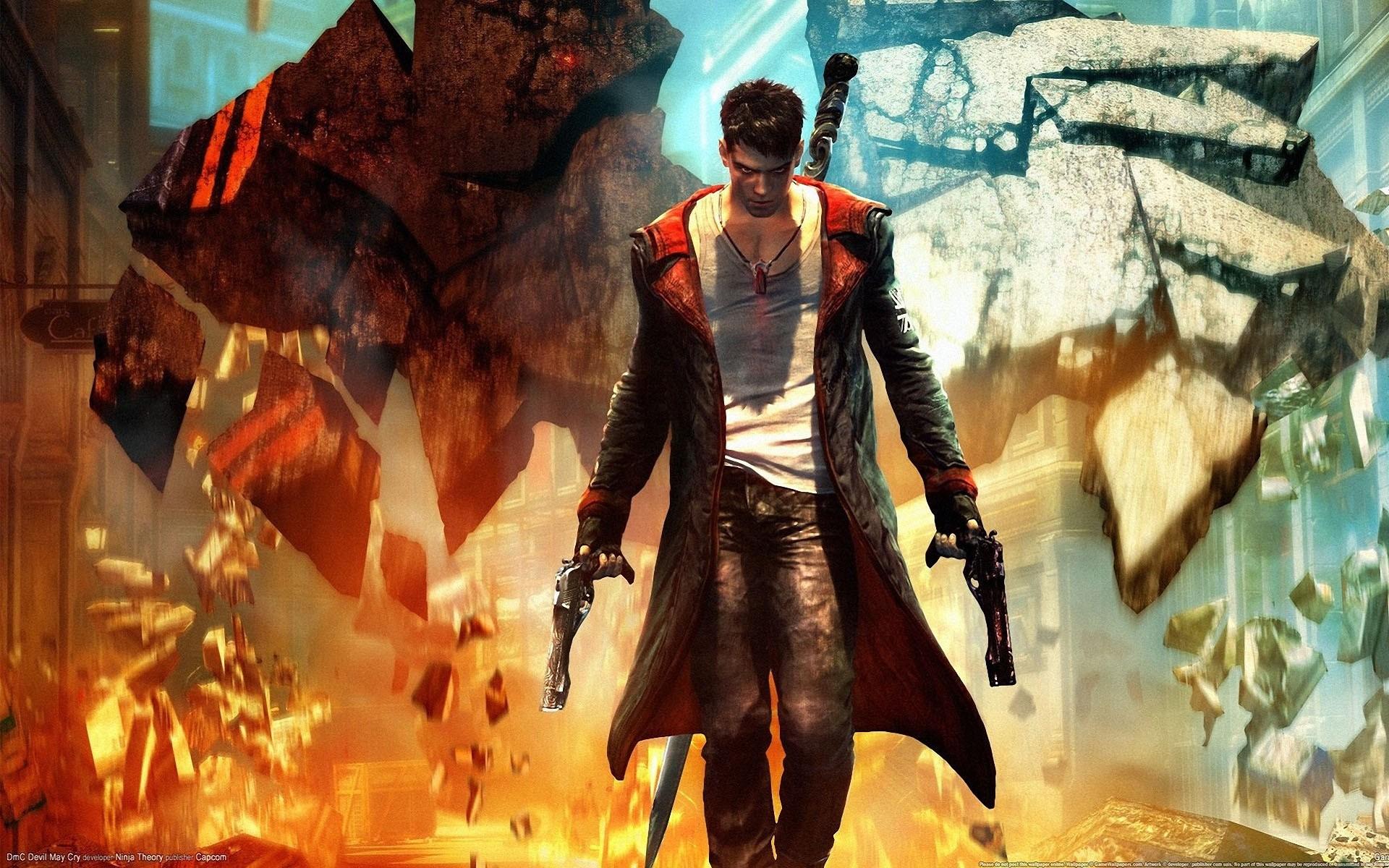 Devil May Cry Desktop Hd Capcom Wallpaper