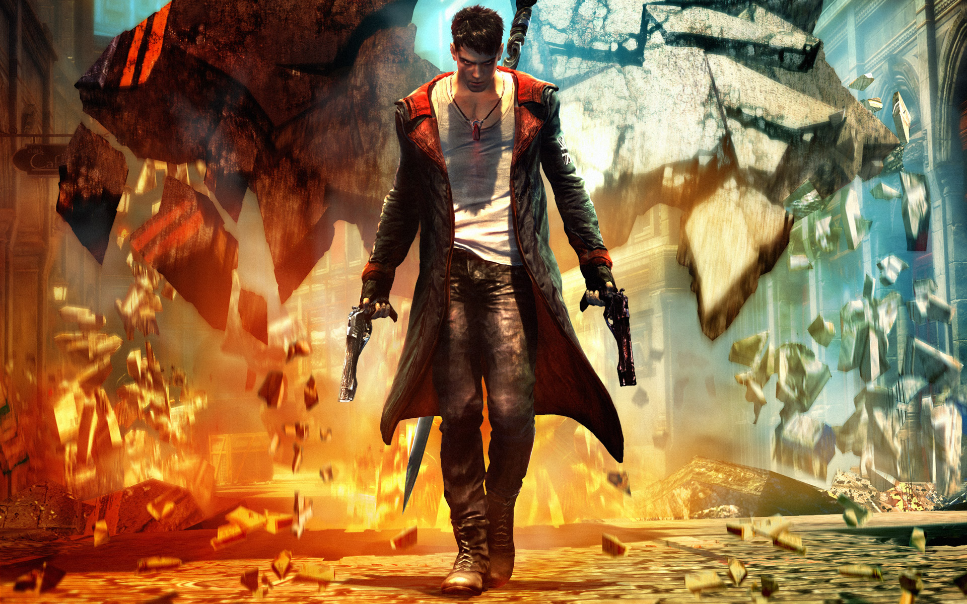 Devil May Cry Video Games Hd Wallpaper