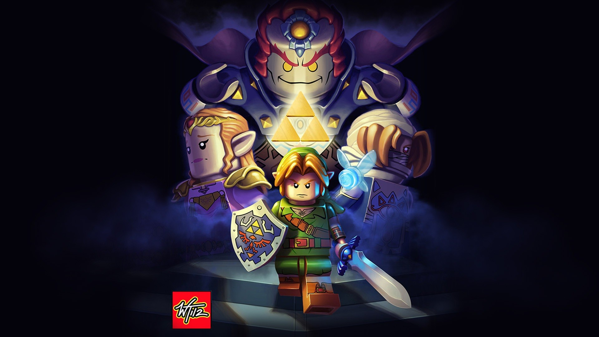 Lego Legend Of Zelda Hd Wallpaper
