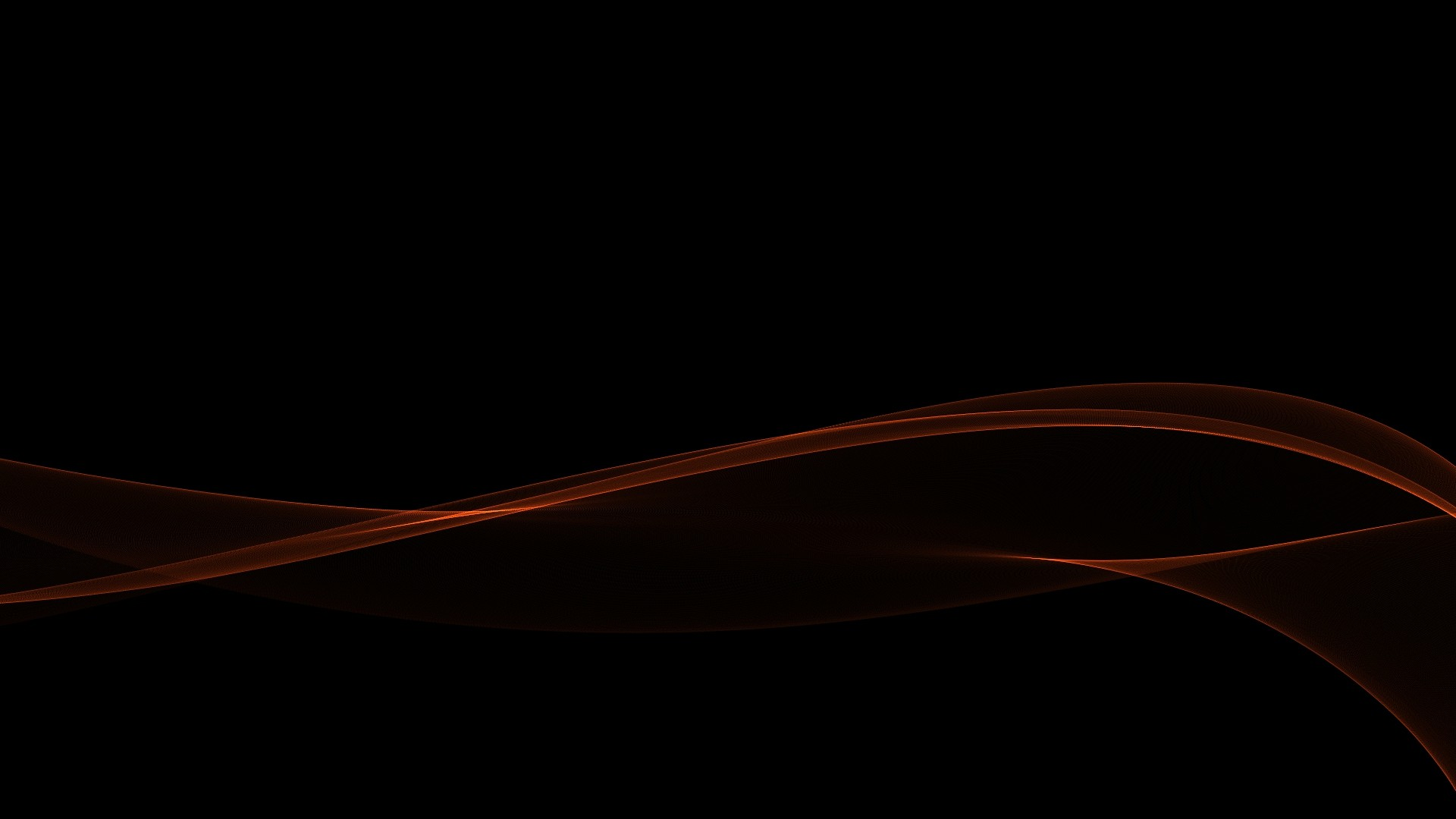 Abstract Black Minimalistic Red Waves Gradient Hd S Wallpaper