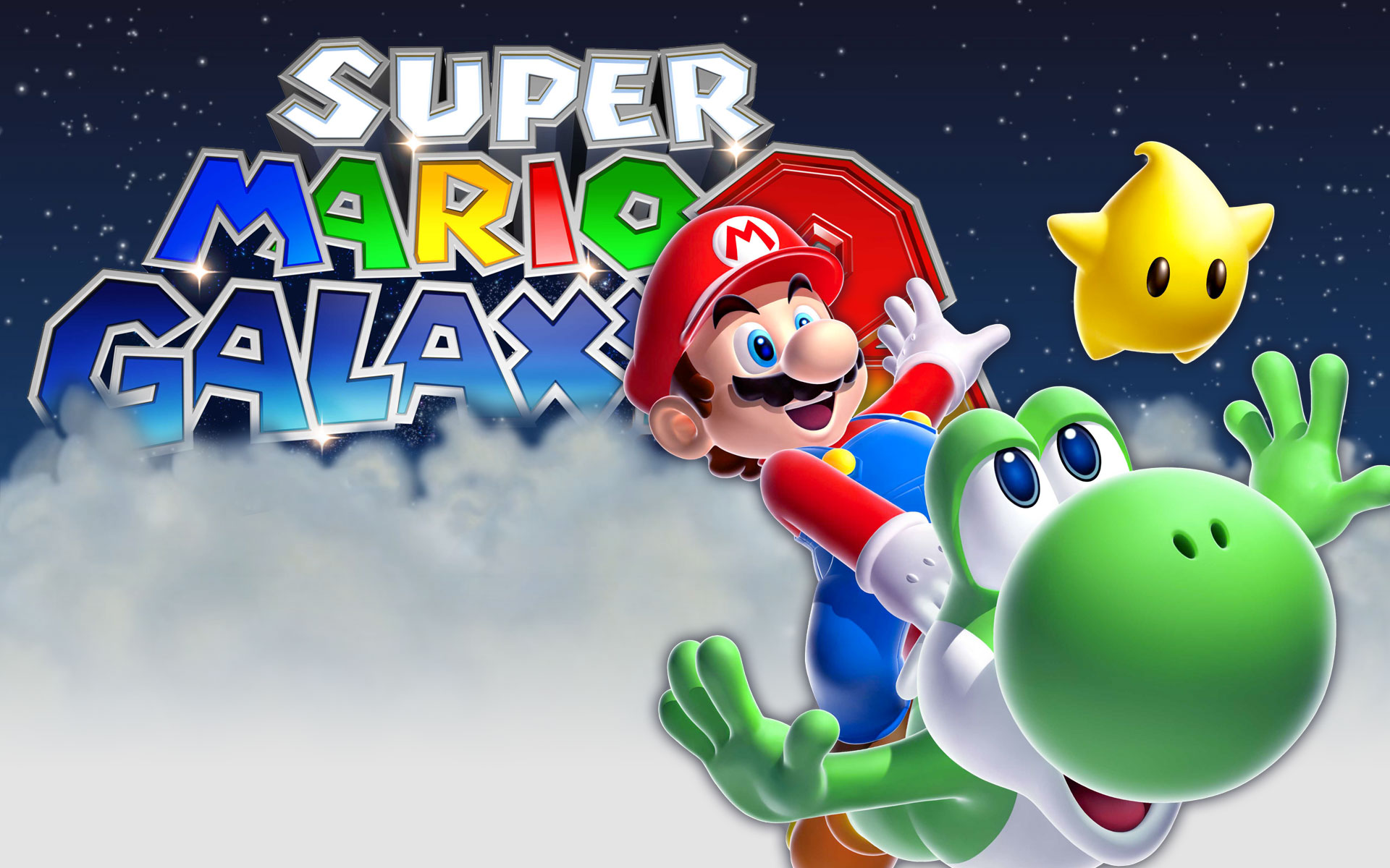 Super Mario Galaxy 11004 Hd Wallpaper