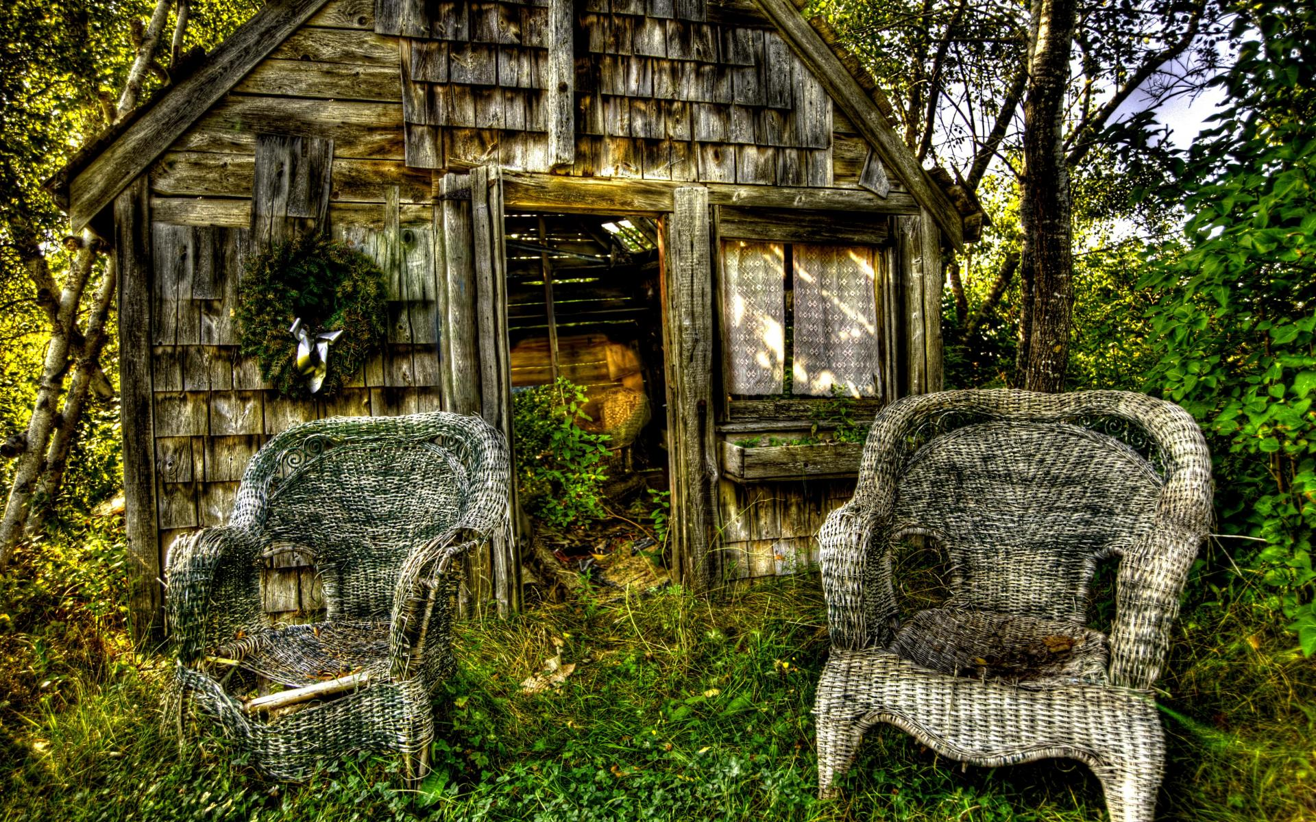 Abandoned Cottage 11133 wallpaper