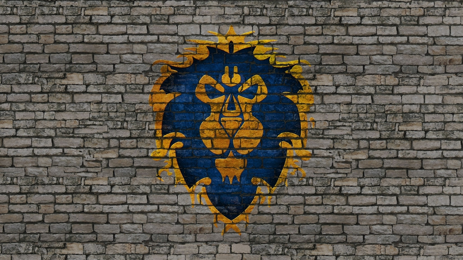 Video Games Blue World of Warcraft Gray Stones Gold Grey wallpaper