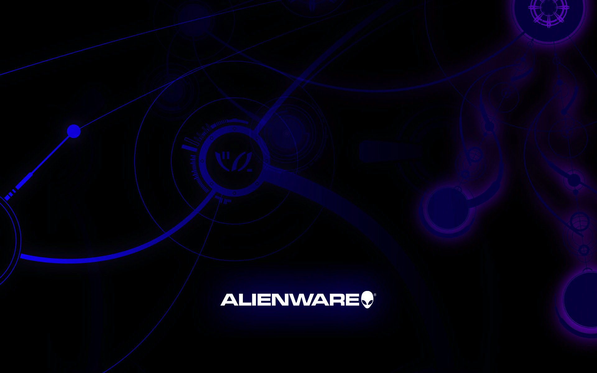 Alienware Logo HD Wallpaper