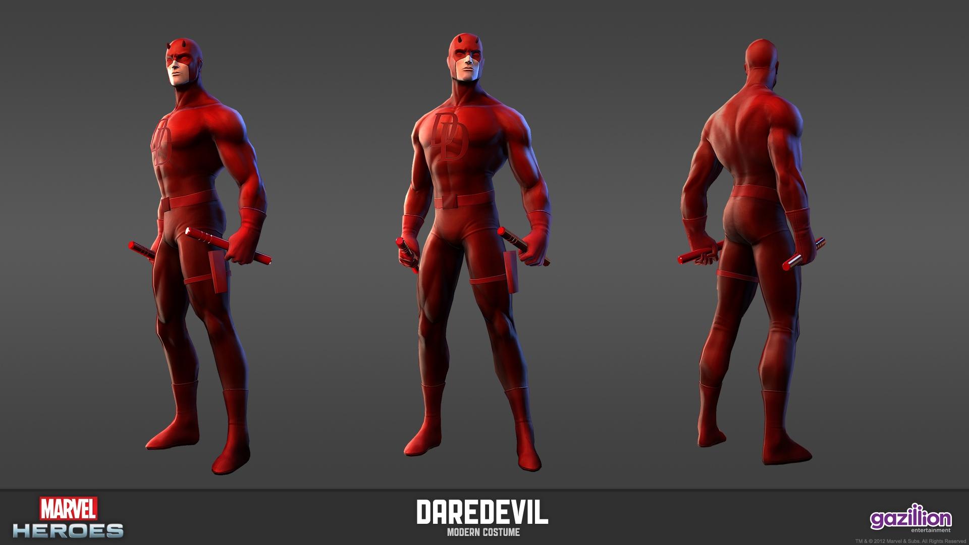 Marvel Heroes Daredevil Wallpaper