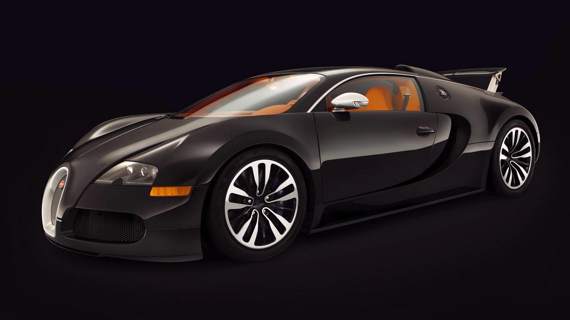 Bugatti Veyron Sang Noir Hd Wallpaper