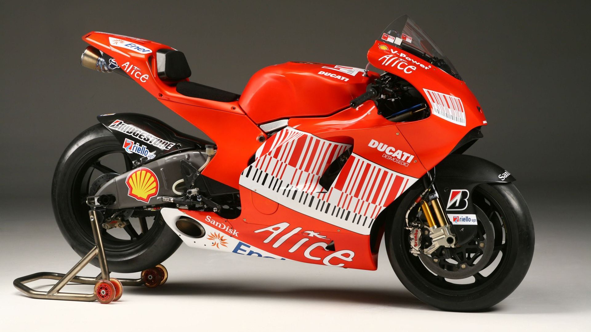Ducati Motogp 2009 HD wallpaper