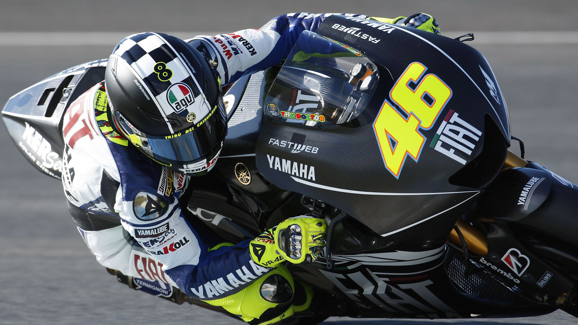 Motogp Valentino Rossi HD wallpaper