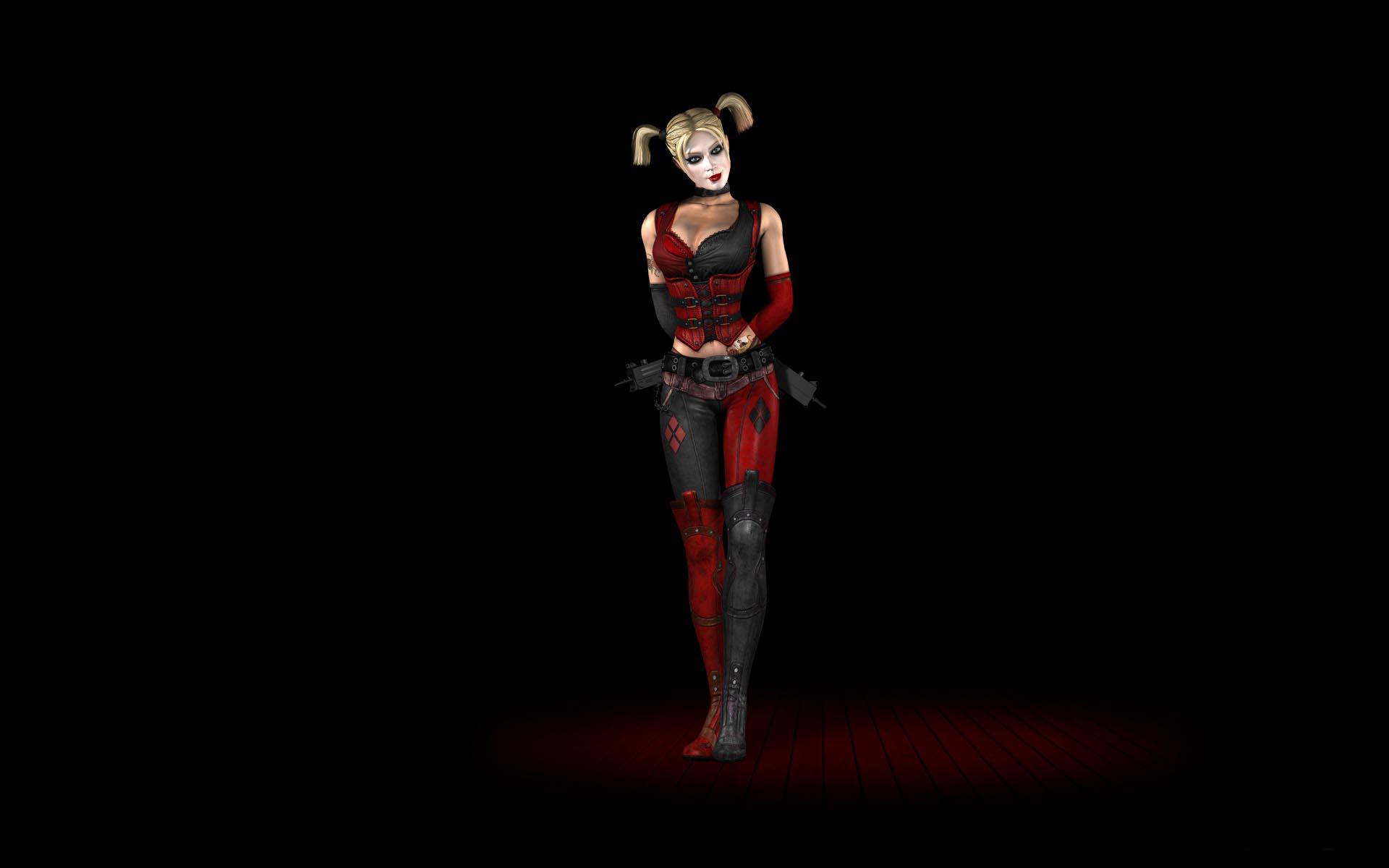 Batman Arkham City Harley Quinn Hd Wallpaper