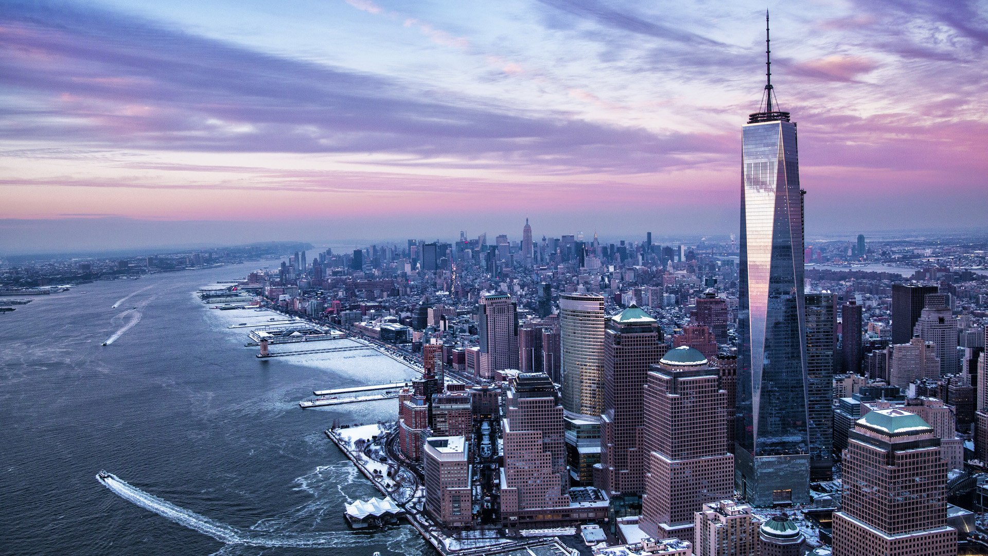 Winter In New York City Hd Wallpaper