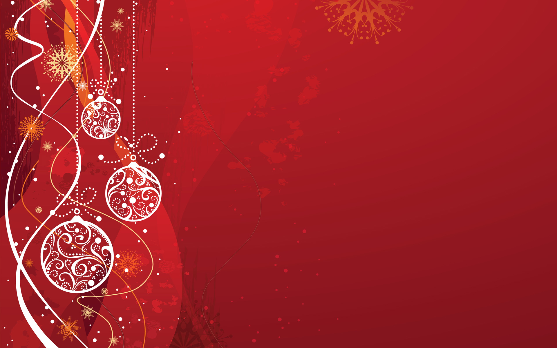 Red Christmas Background Hd Wallpaper