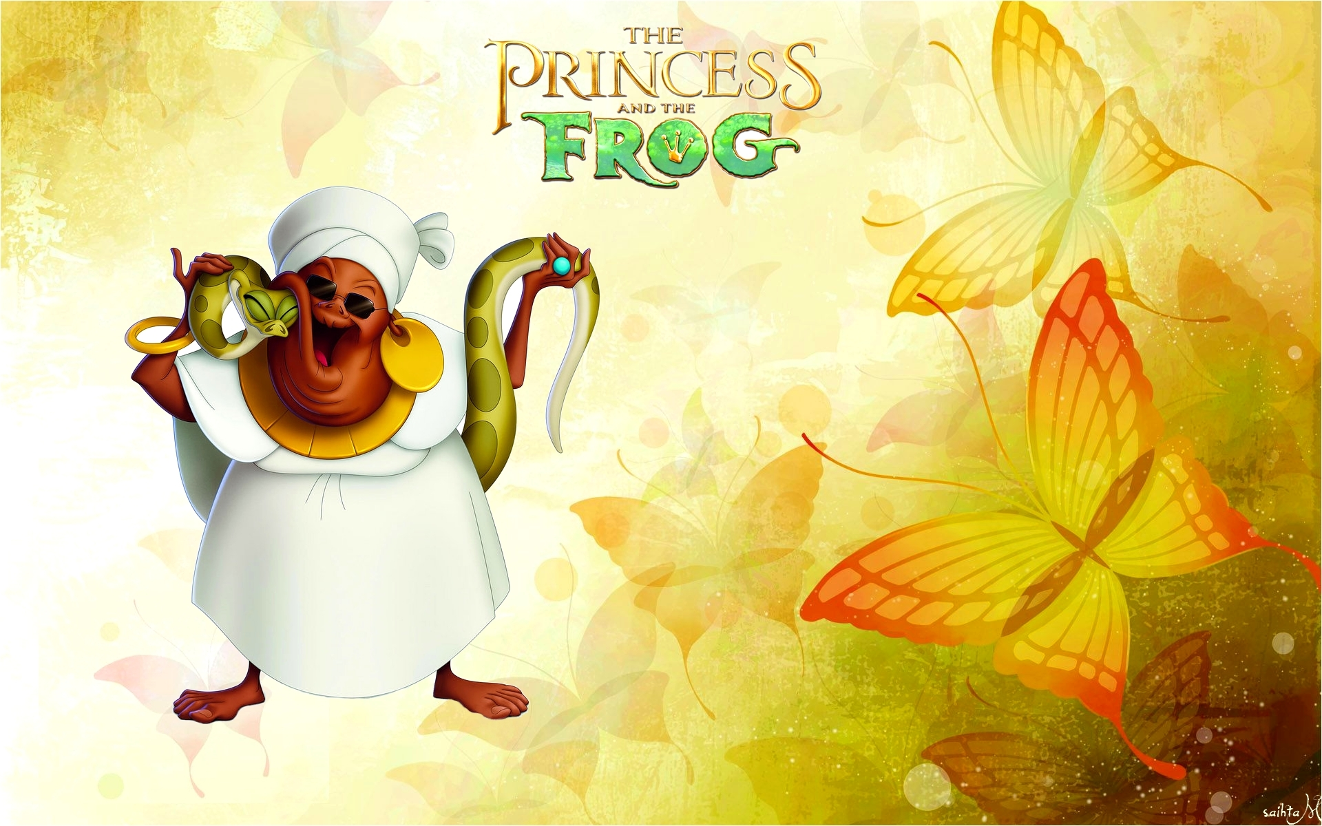 Princess And The Frog Mama Odie Hd Wallpaper