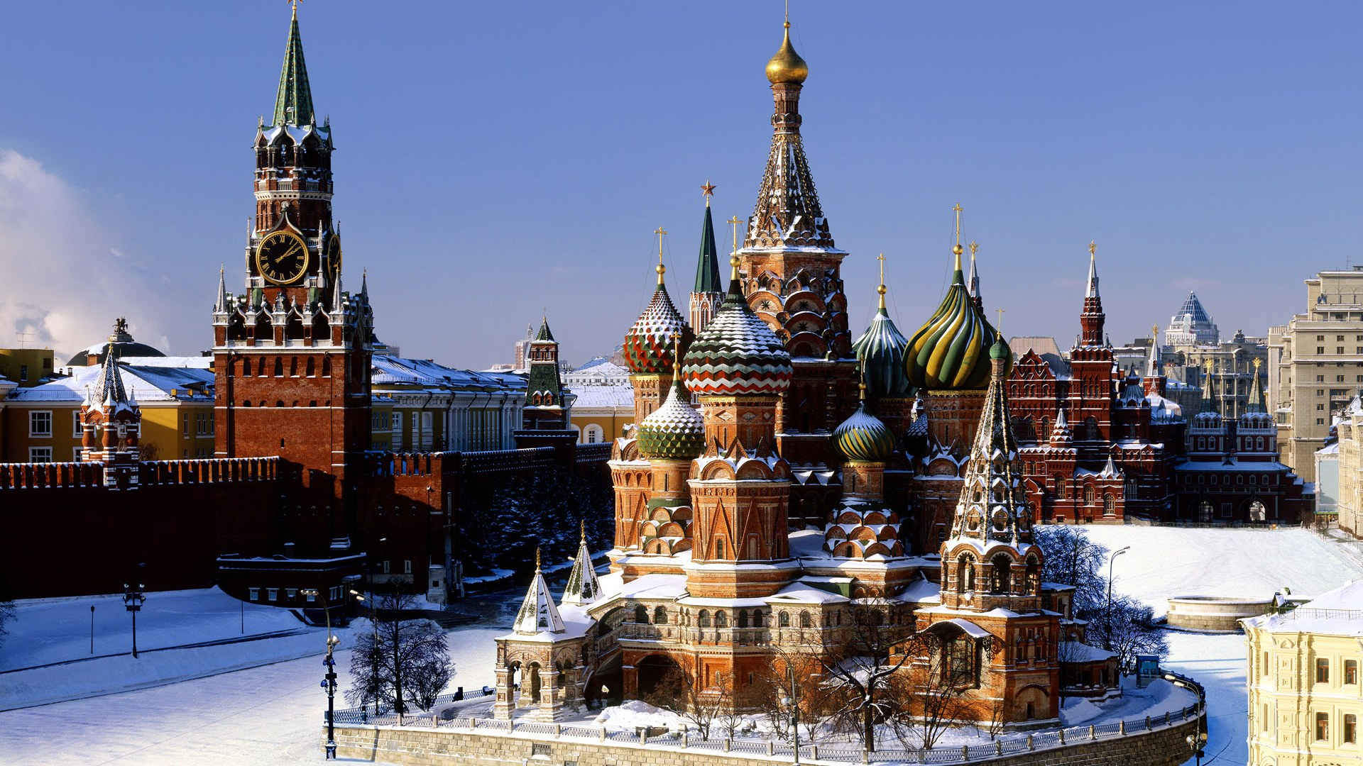 Red Square wallpaper