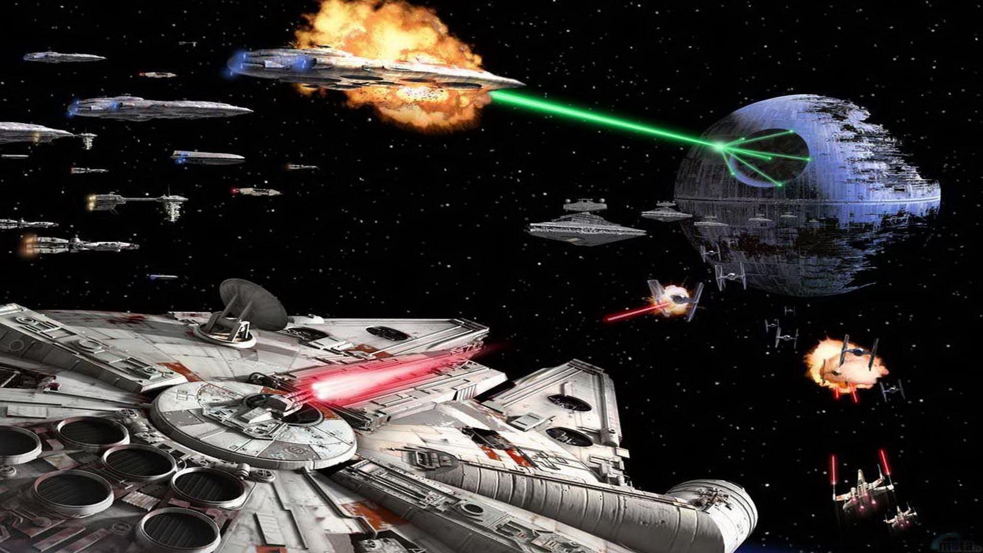 star wars battle of endor