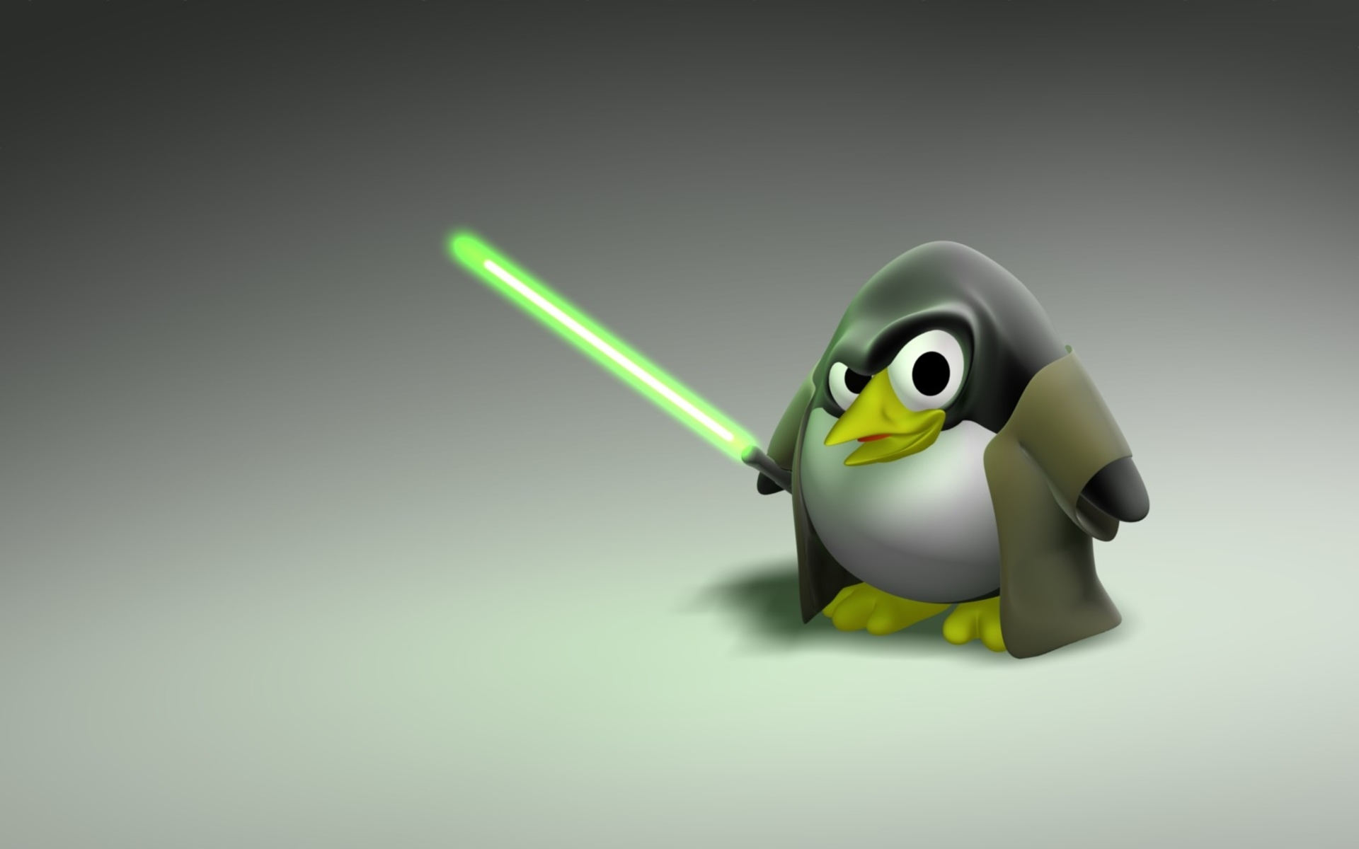 1920x1440 technology star wars linux lightsaber penguin
