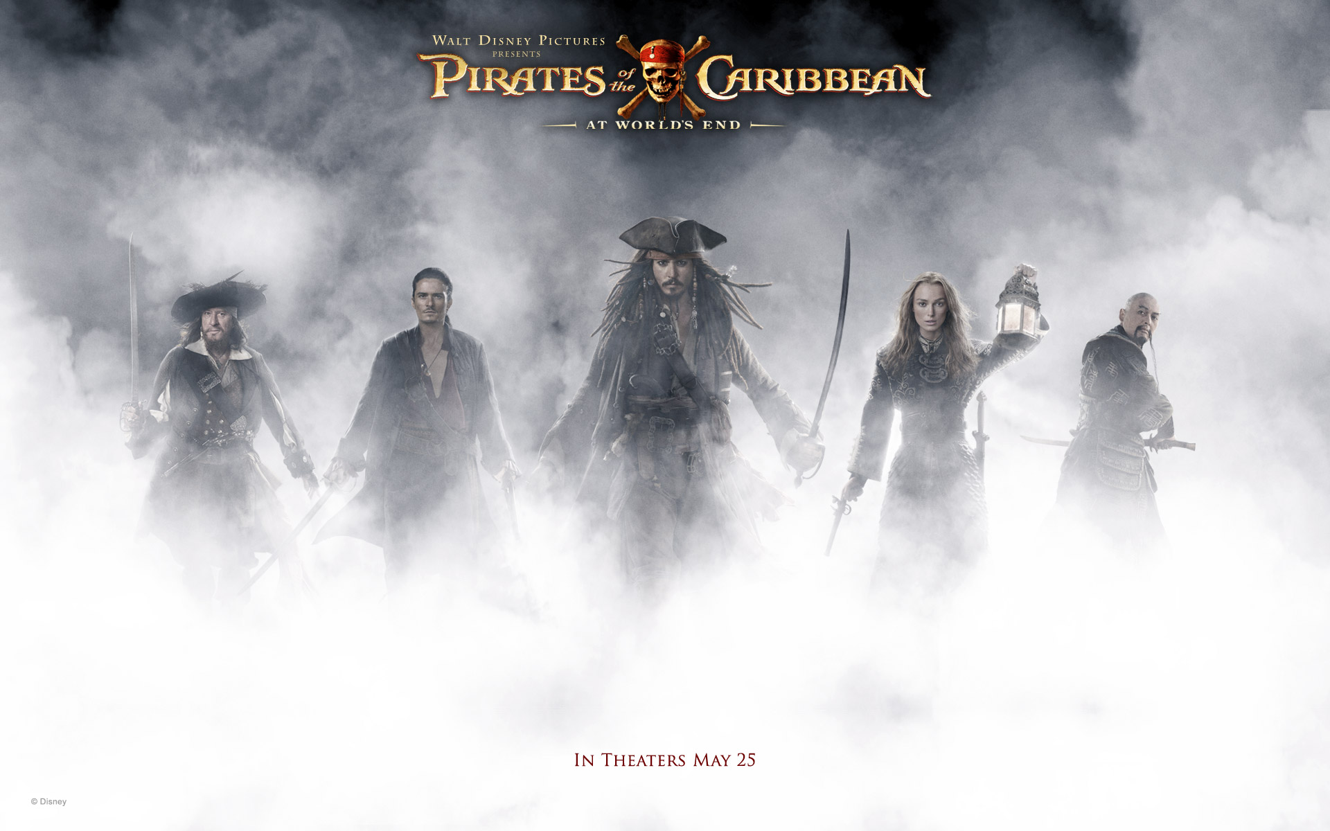 Pirates Of The Caribbean At Worlds End wallpaper