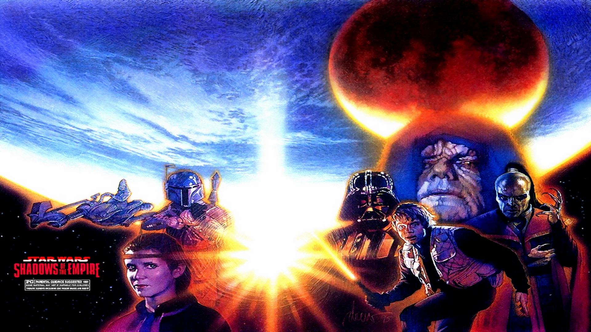Star Wars Shadows Of The Empire Hd Wallpaper