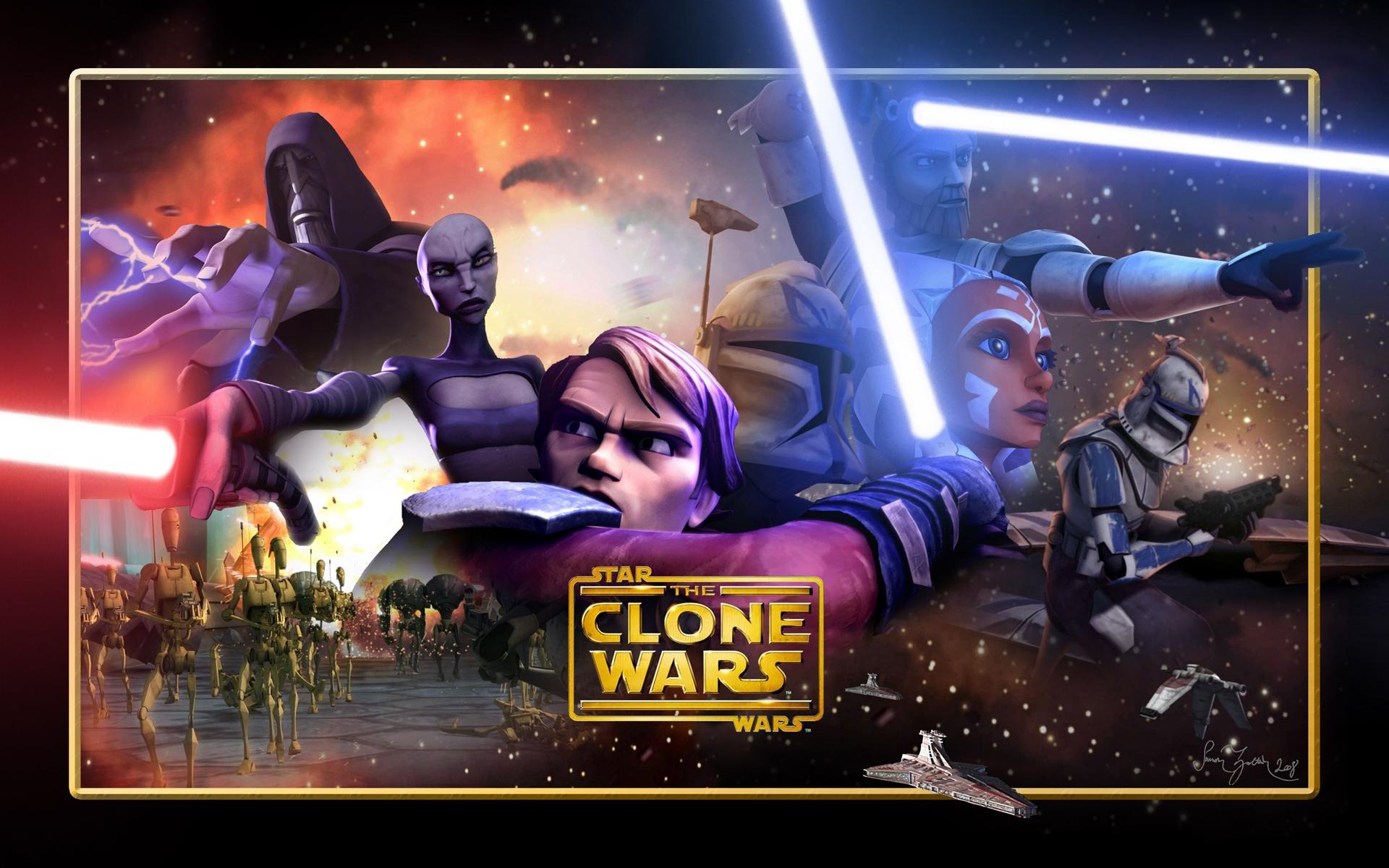 Star Wars The Clone Wars 2008 Hd Wallpaper