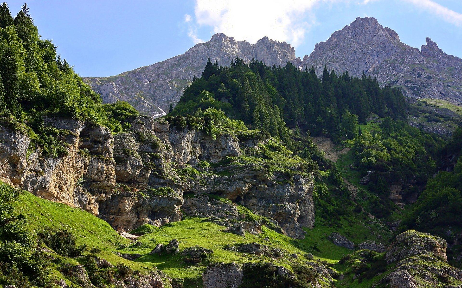 Beautiful Cliffs HD Wallpaper