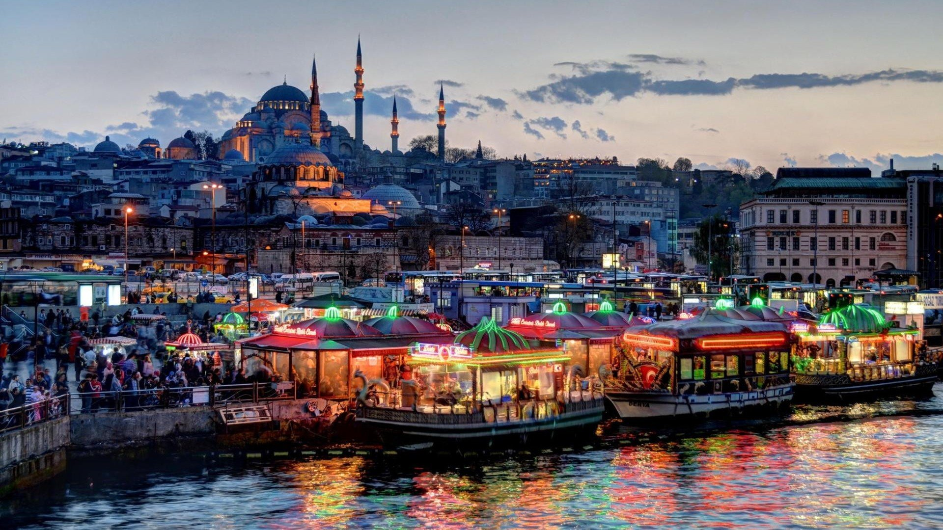 Istanbul City 14165 Hd Wallpaper