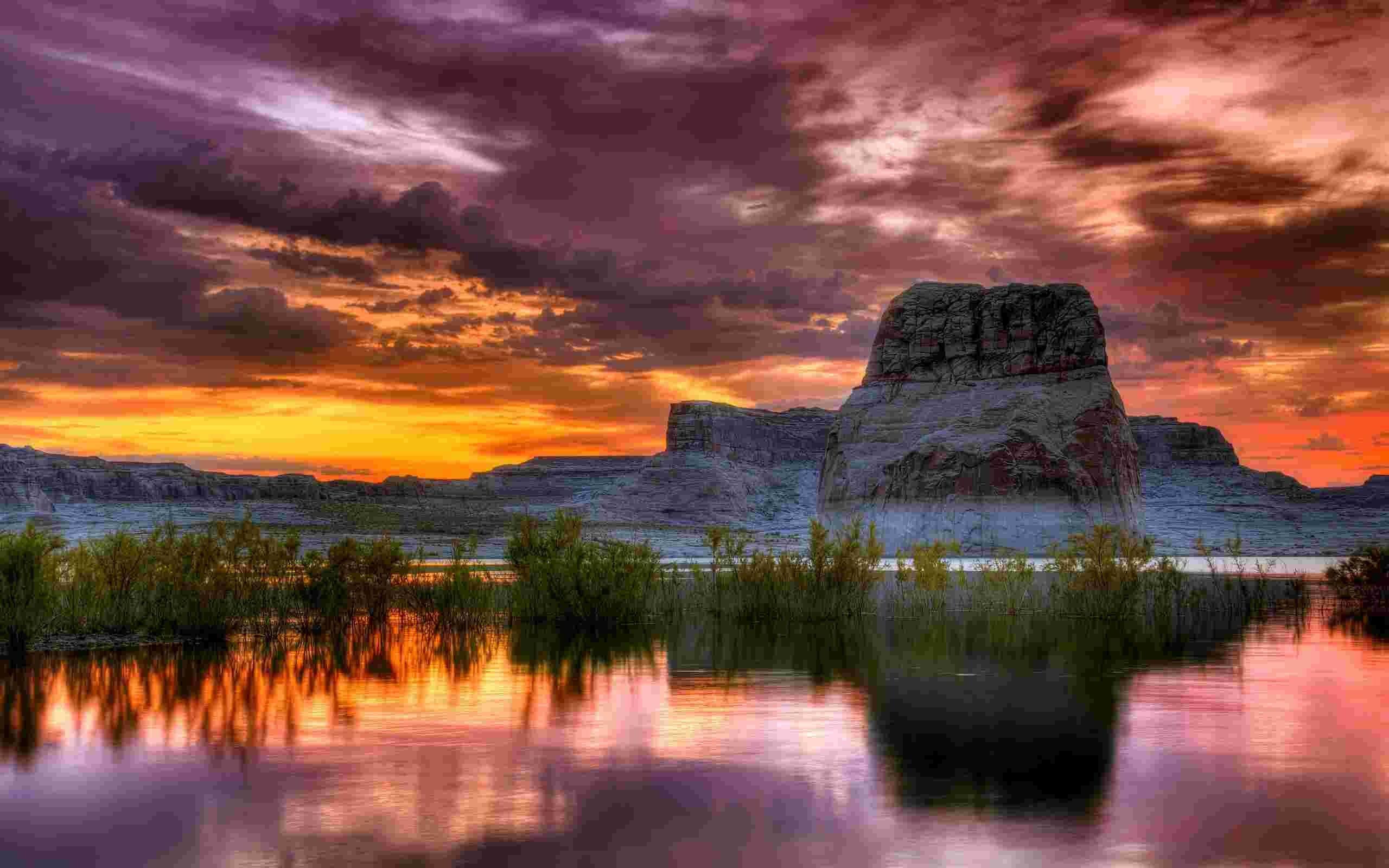 Lake Powell Arizona Hd Wallpaper