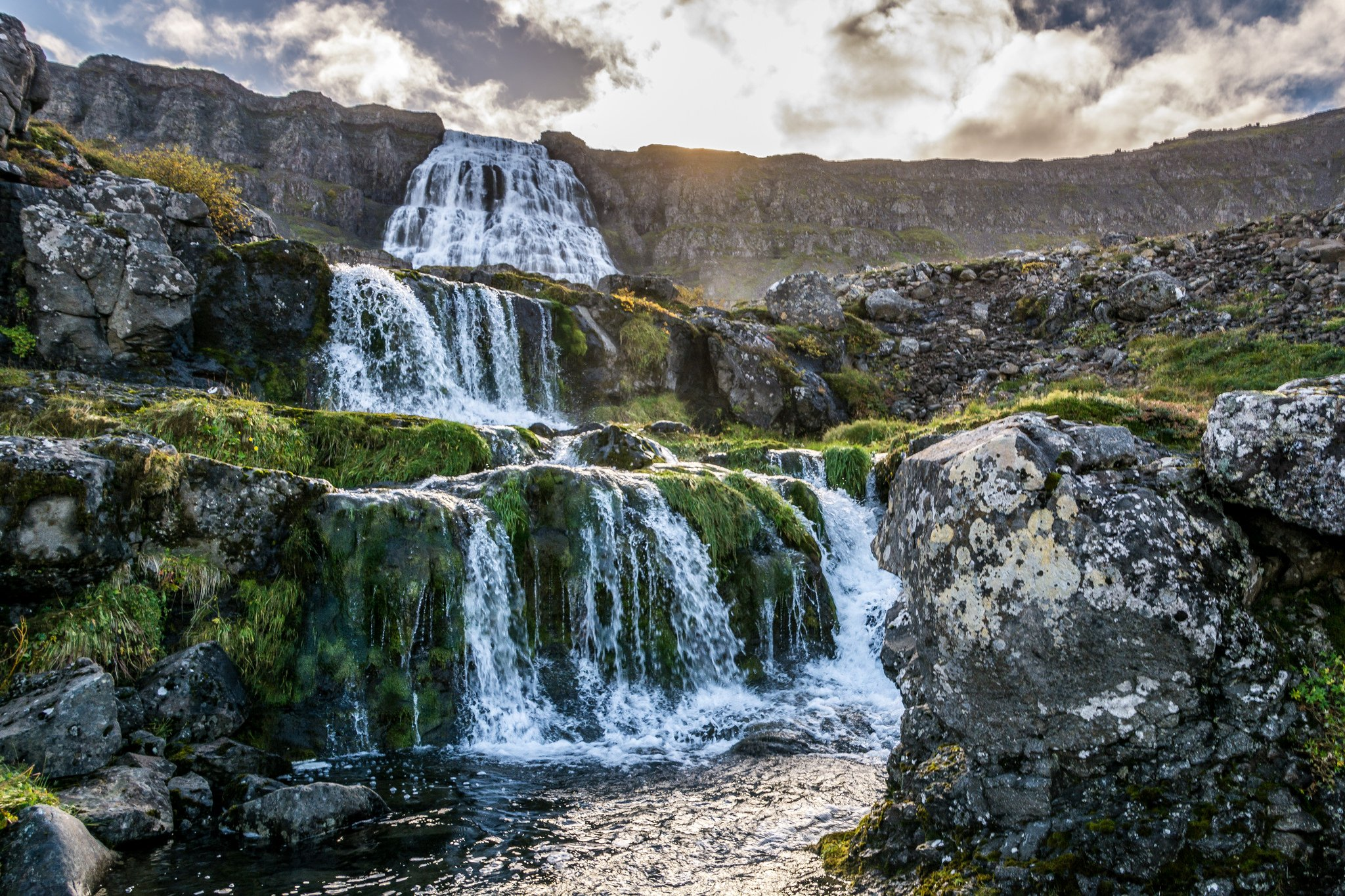 Dynjandi My Favourite Waterfall in All of Iceland wallpaper