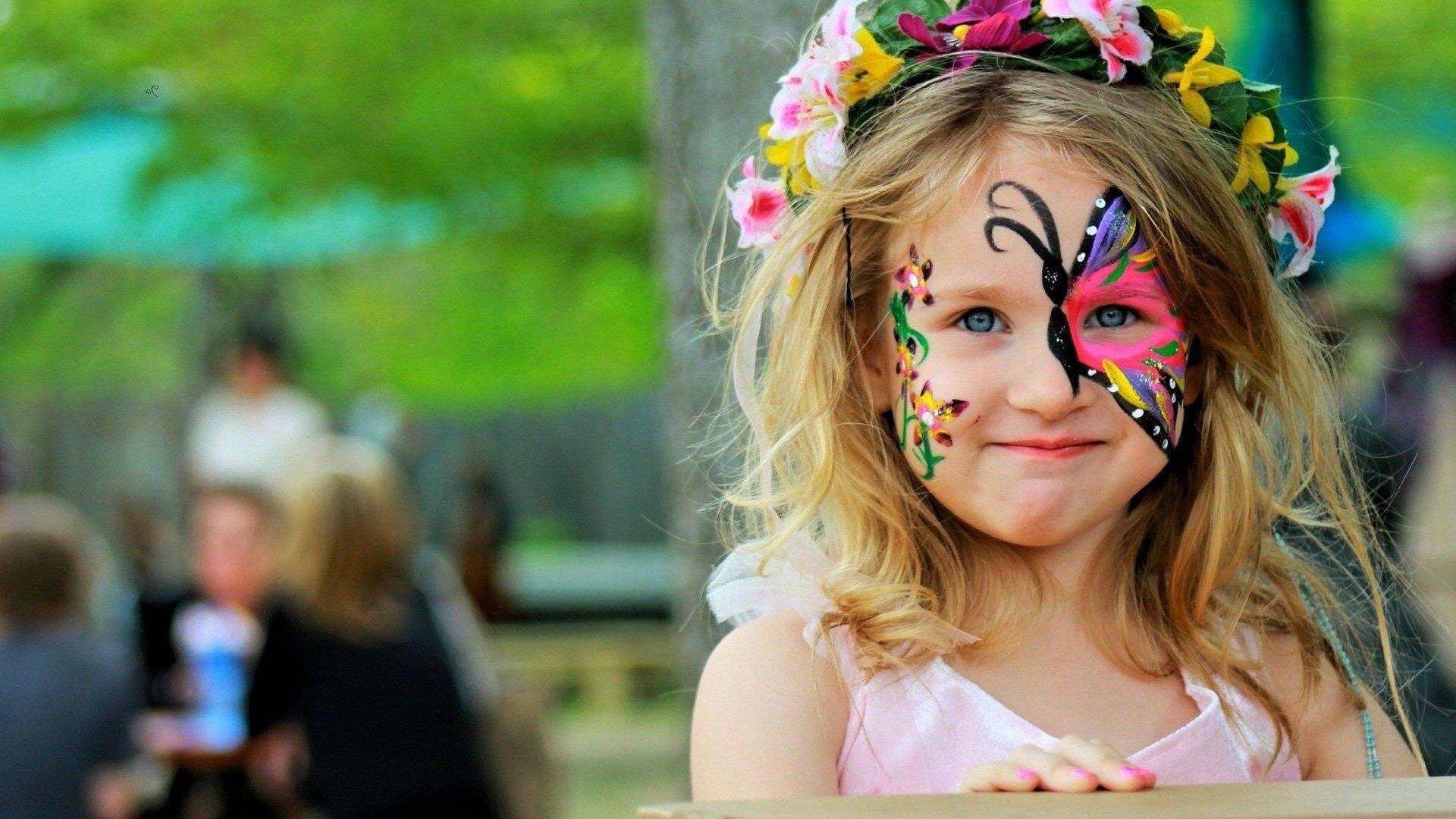 little girl butterfly wallpapers - photo #45