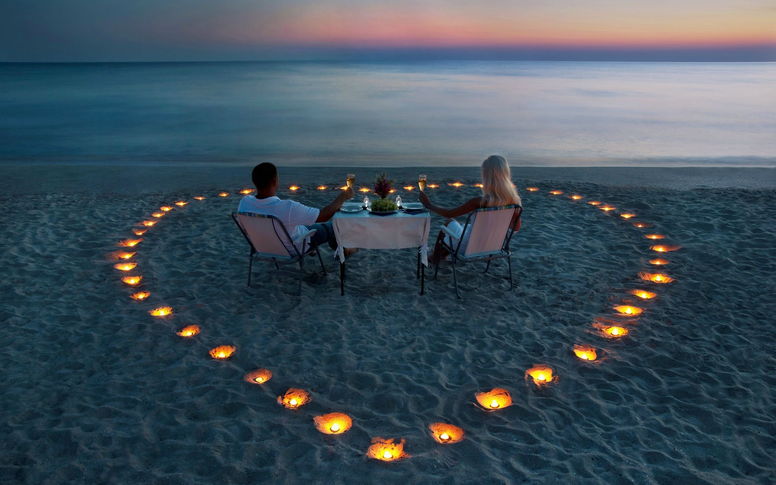 Island Romantic Good Evening Hd Wallpaper