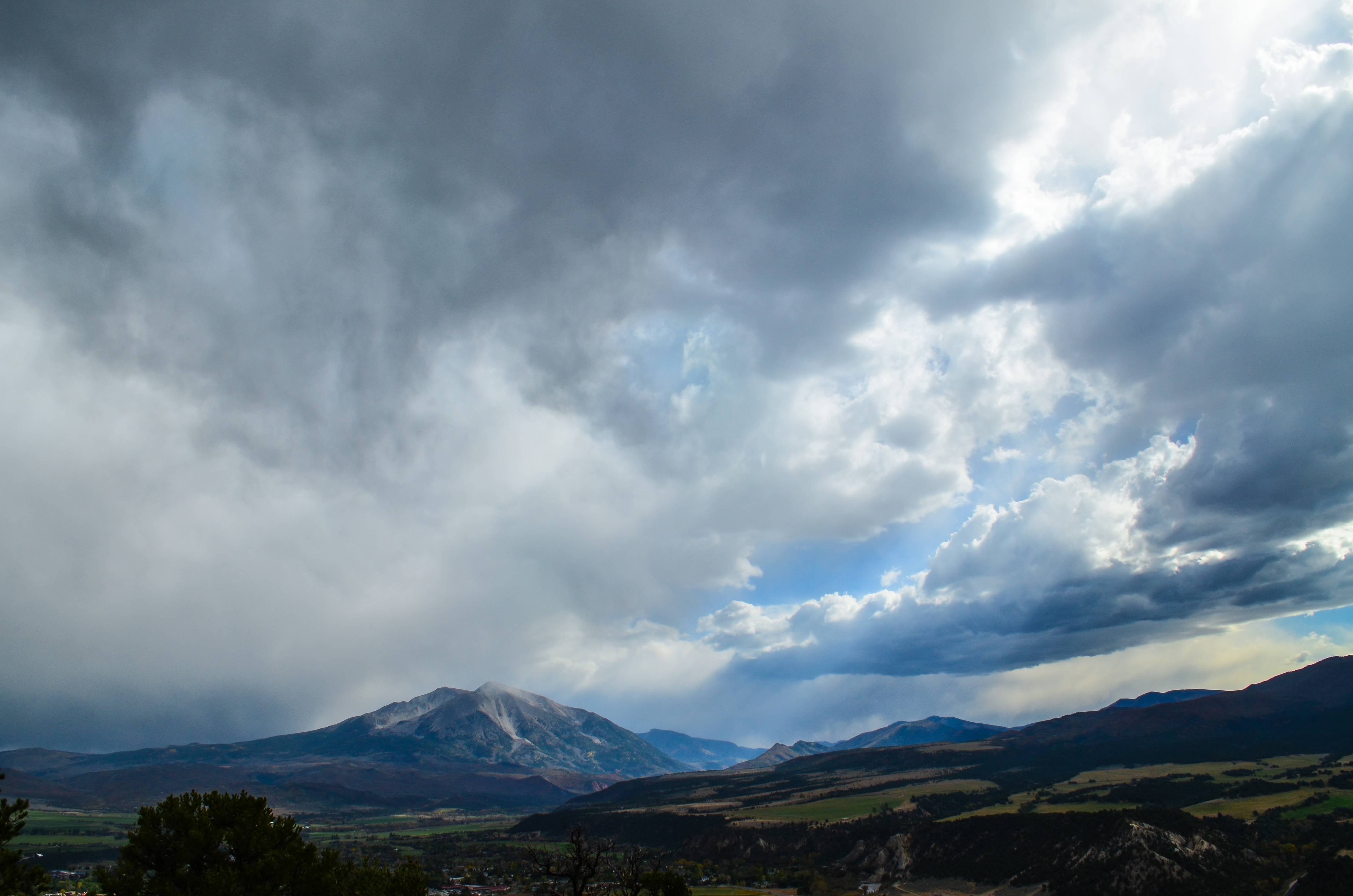 Mount Sopris Western Colorado wallpaper