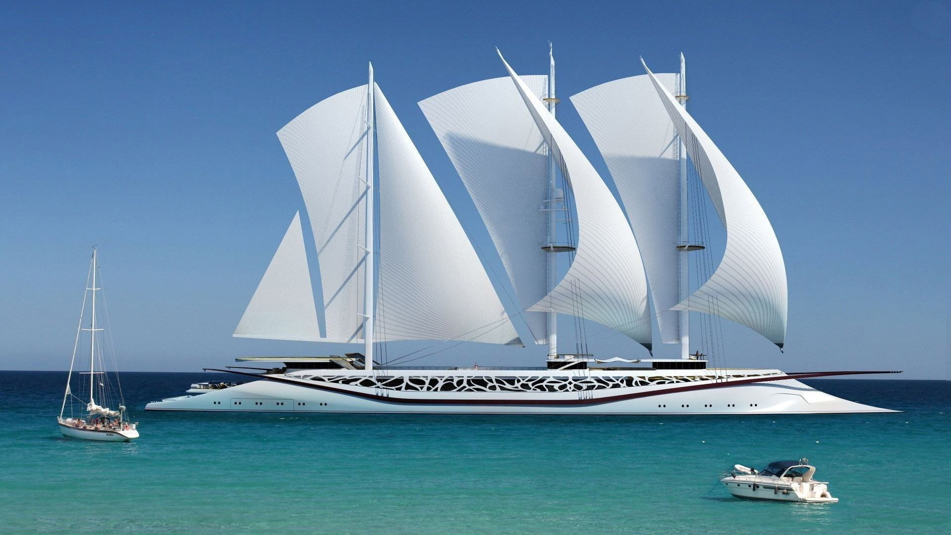 Super Yachts Hd Wallpaper