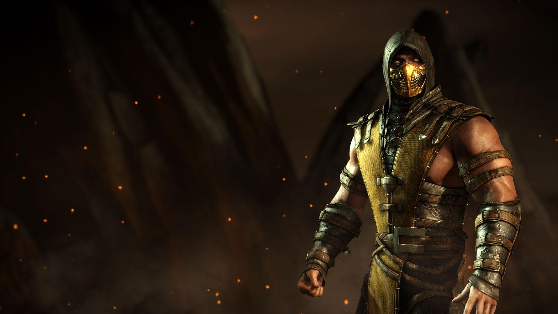 Scorpion Mortal Kombat Hd Wallpaper