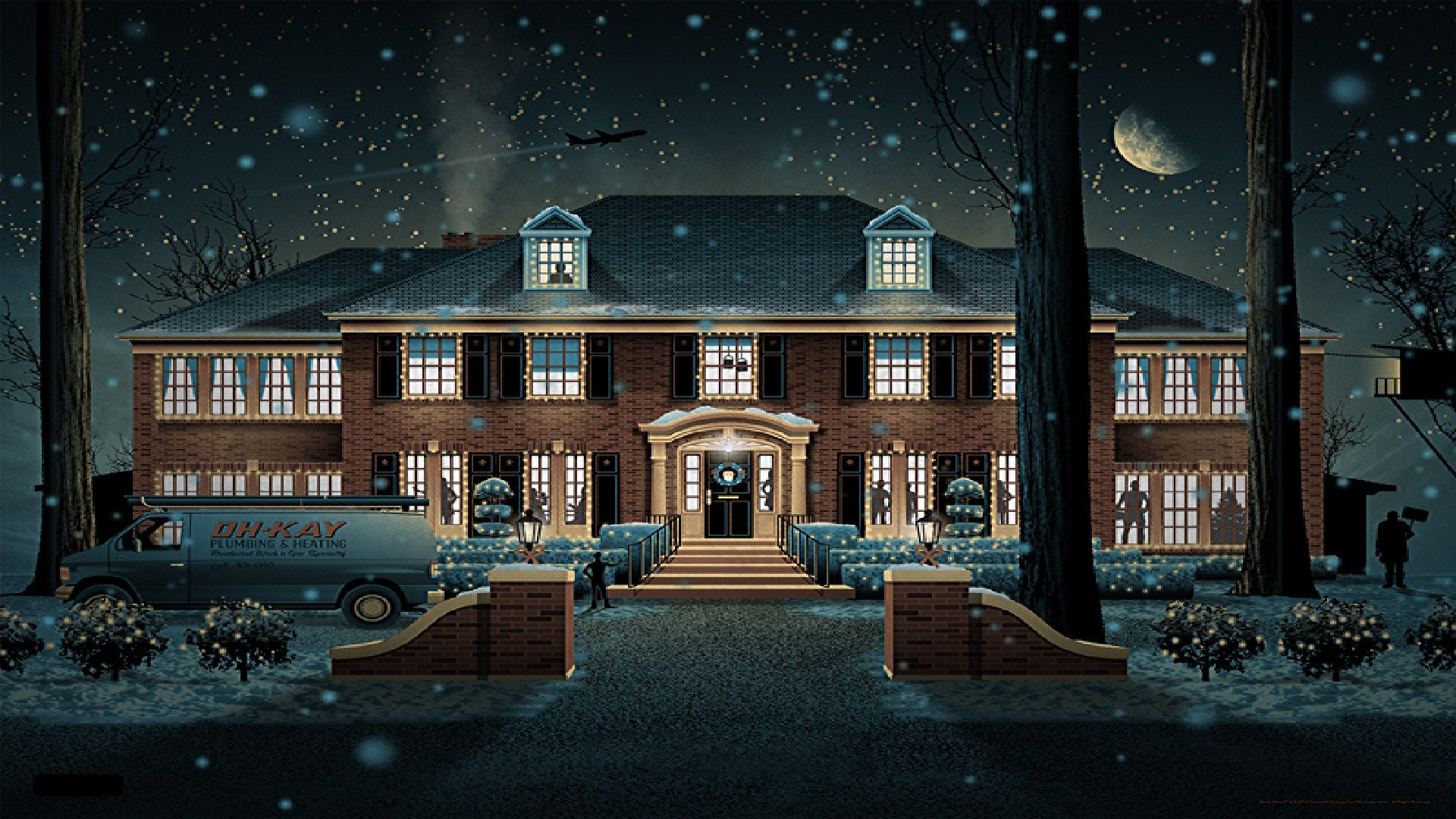 Home alone hd wallpaper for Wallpaper of home wall