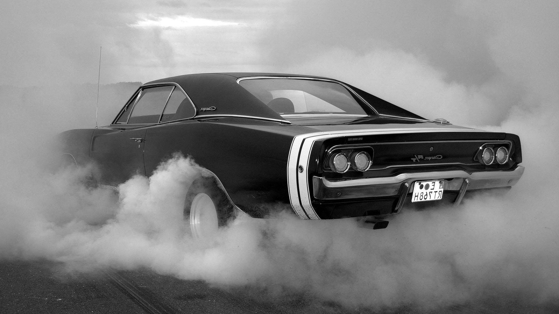 American Muscle Car HD Wallpaper