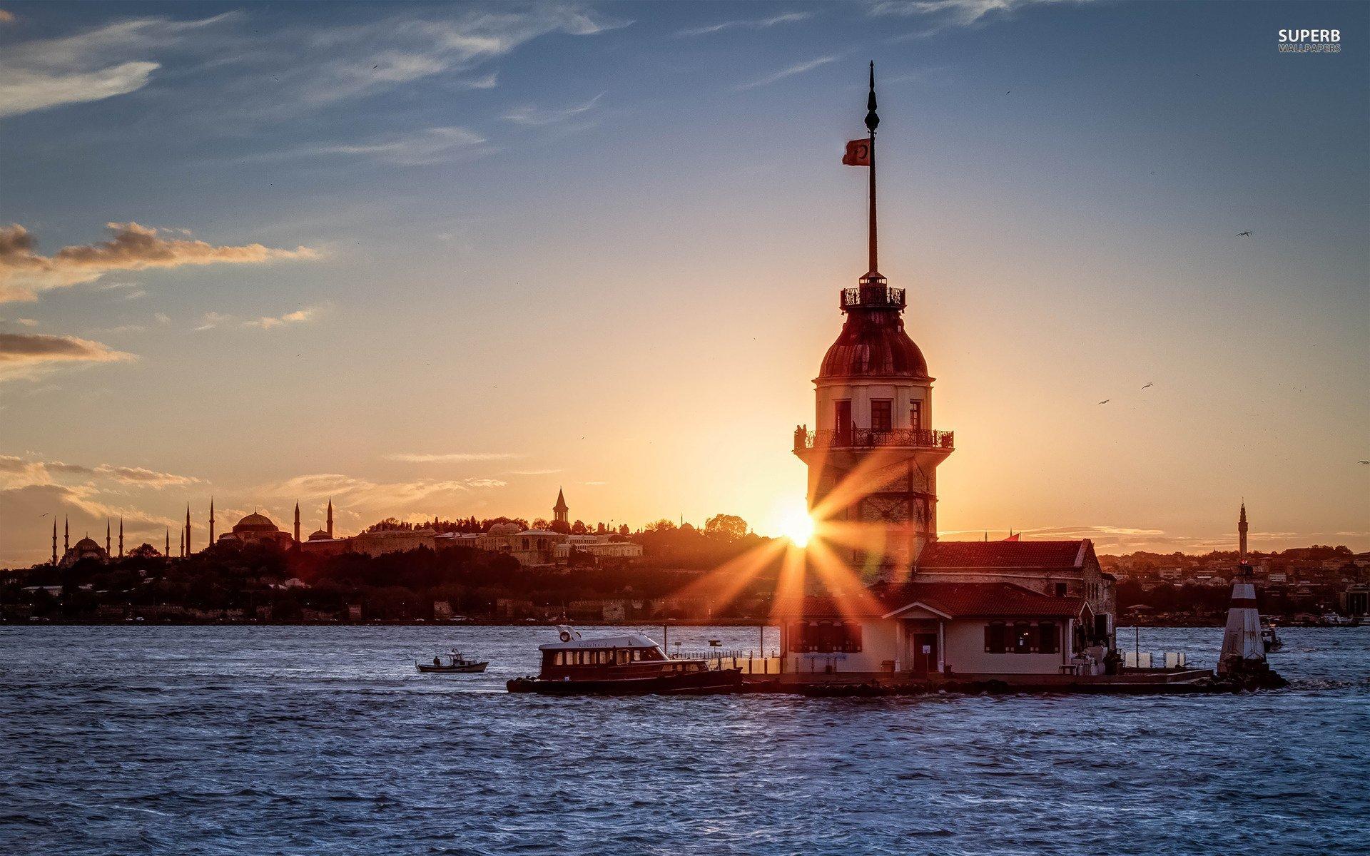 Beautiful Sunset In Turkey Wallpaper