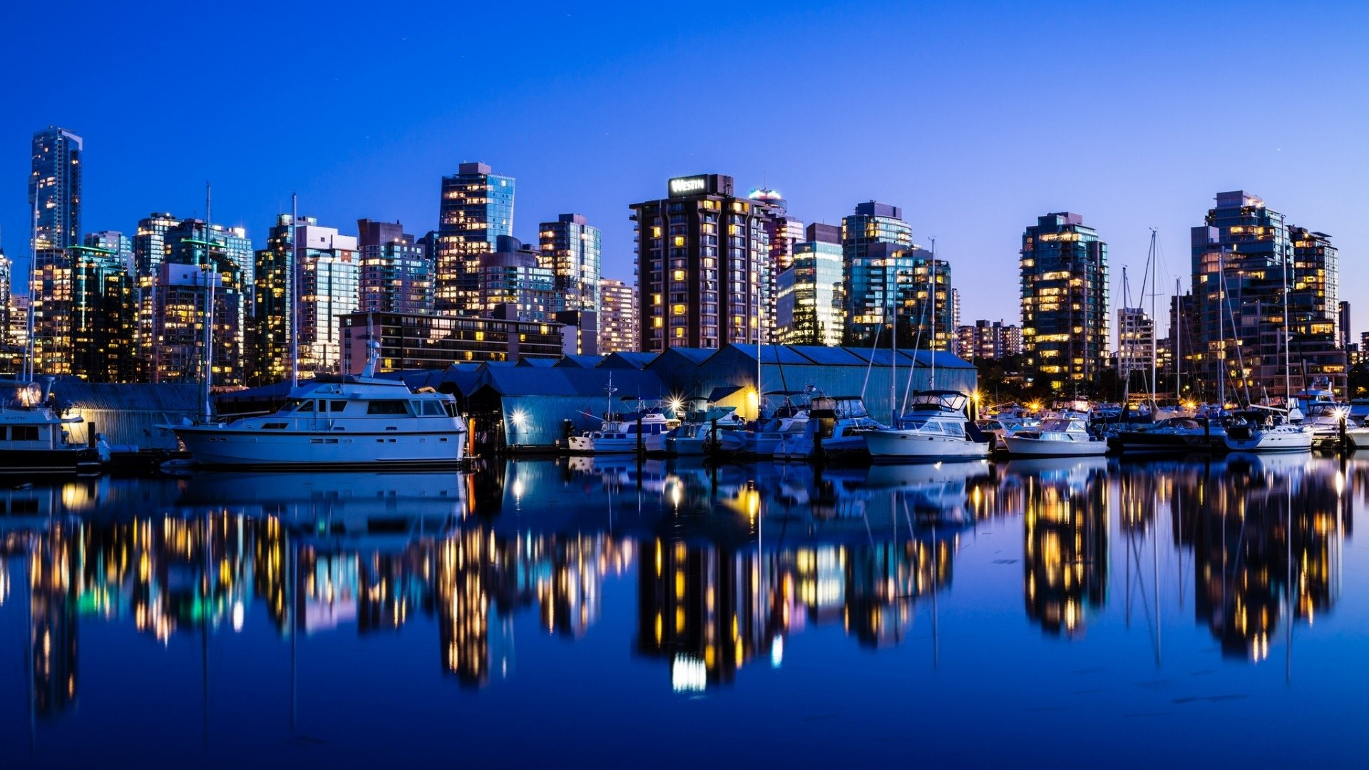 city of vancouver canada wallpaper