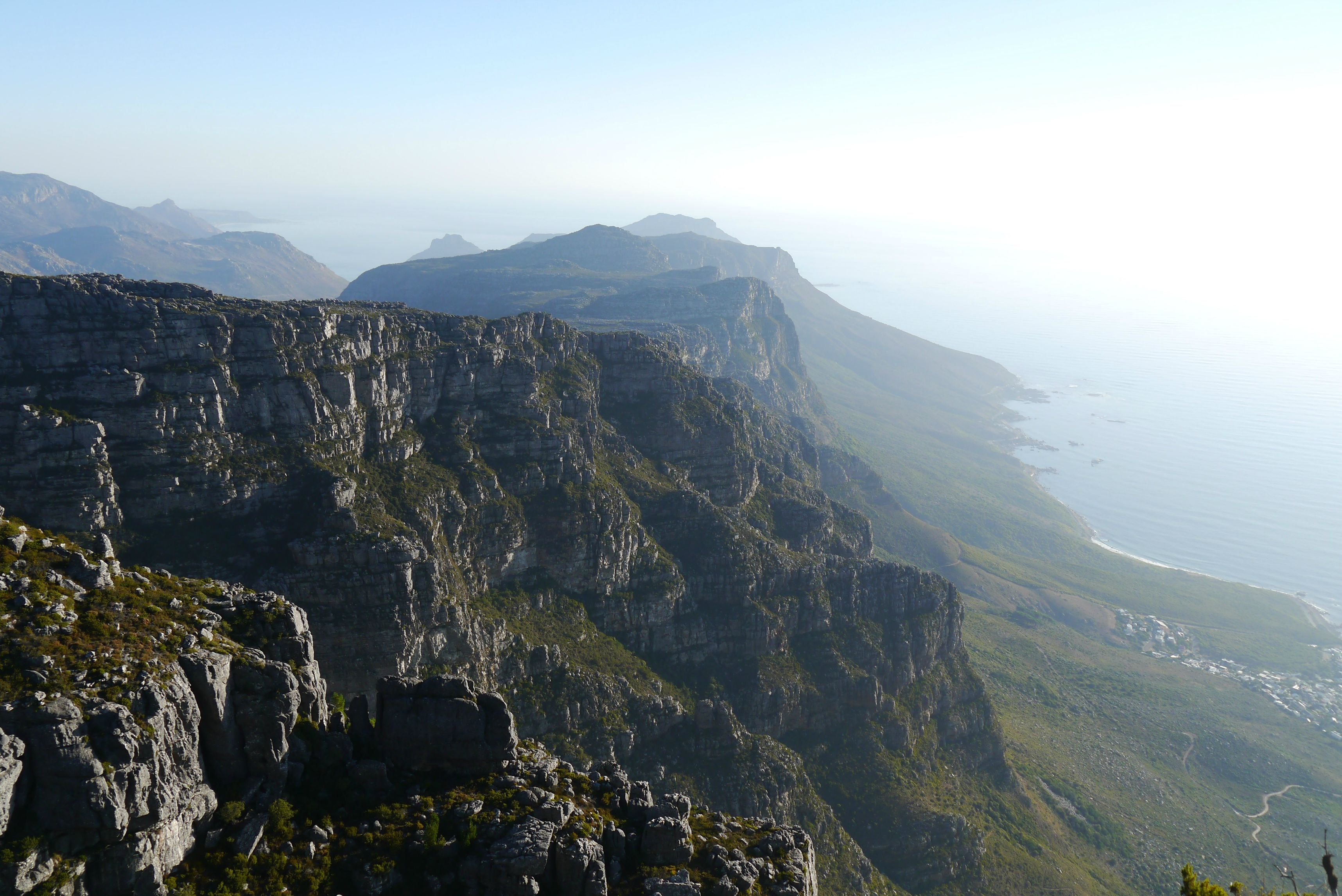 Table Mountain Cape Town South Africa Hd Wallpaper