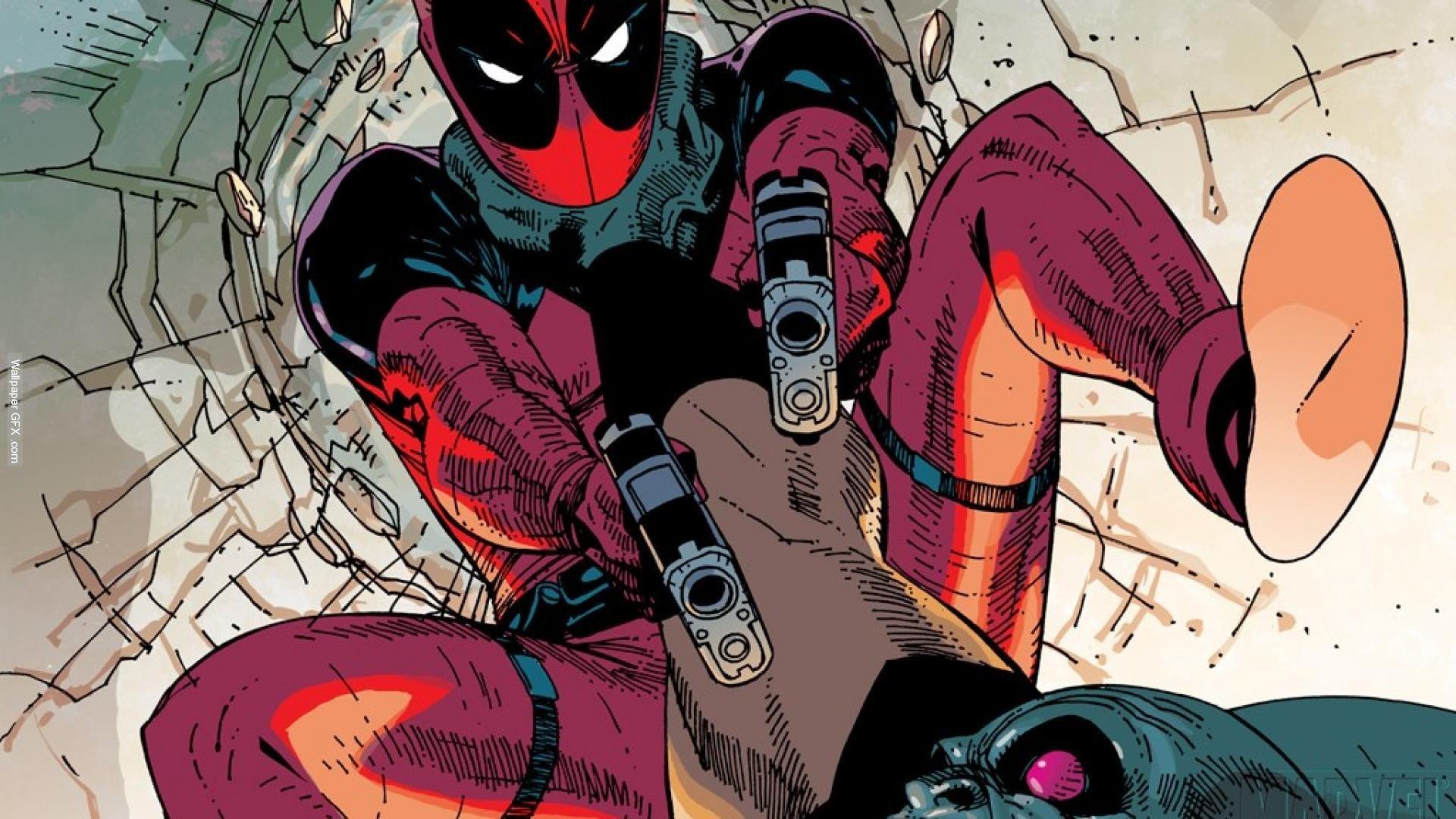 Deadpool Wade Winston Wilson Anti Hero Marvel Comics Mercenary Wallpaper Ultimate Alliance HD