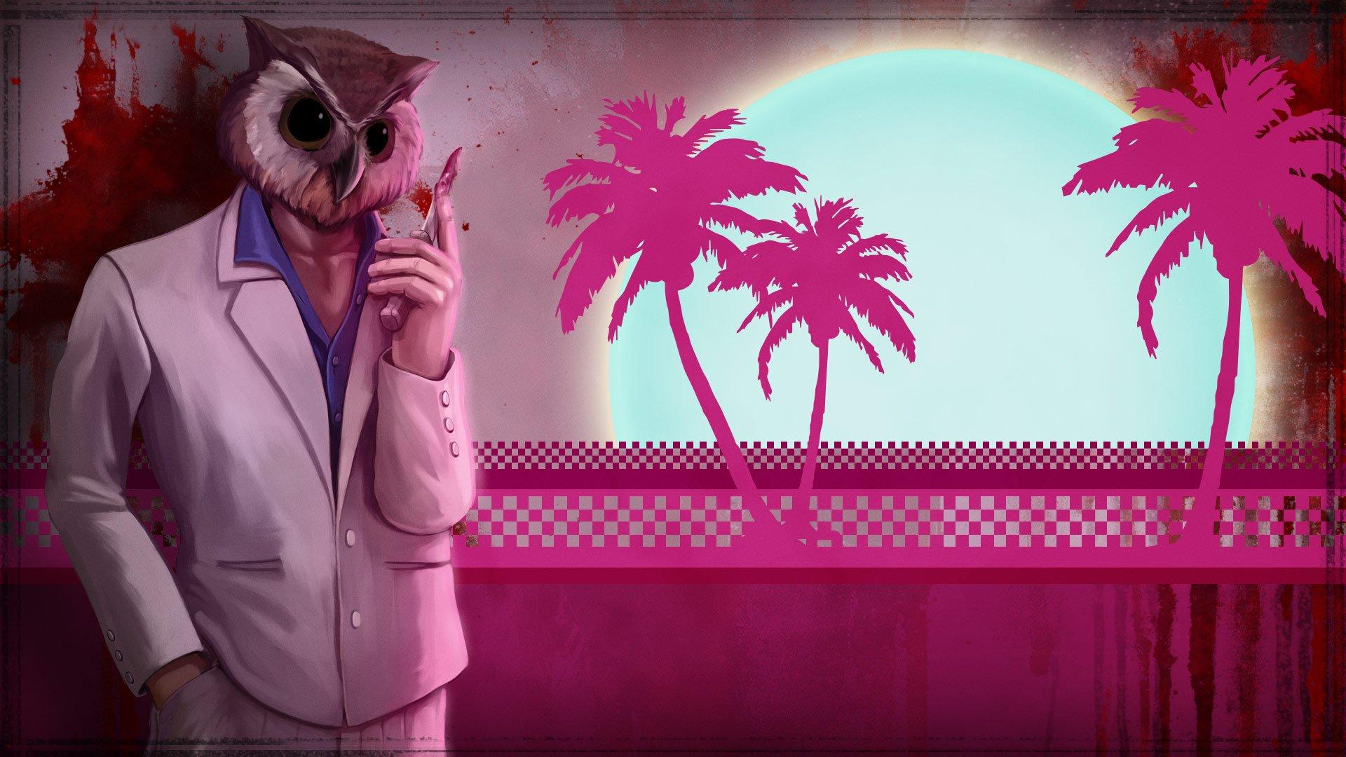 Hotline Miami Rasmus Wallpaper