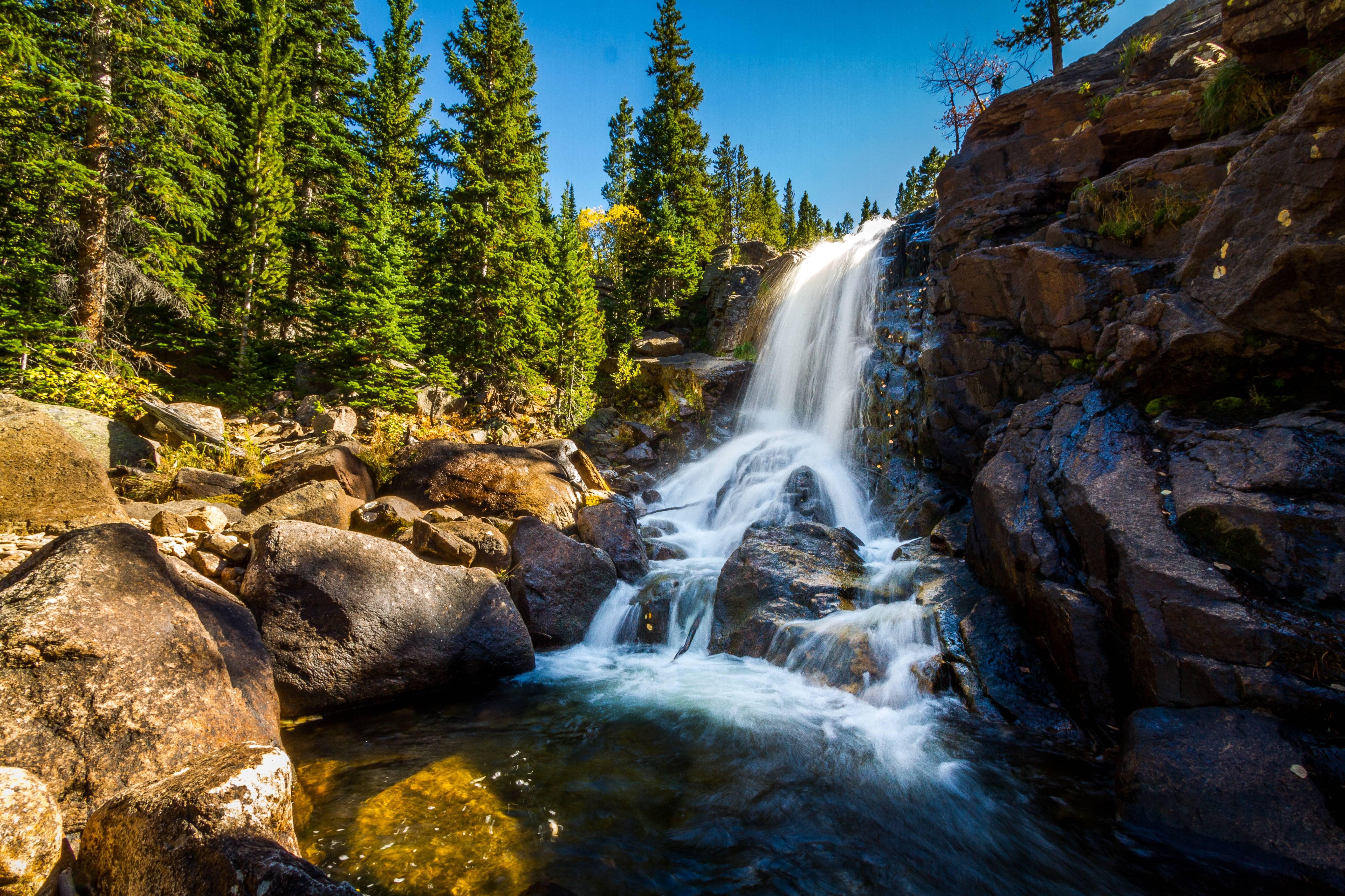 rocky mountain creek wallpaper - photo #25