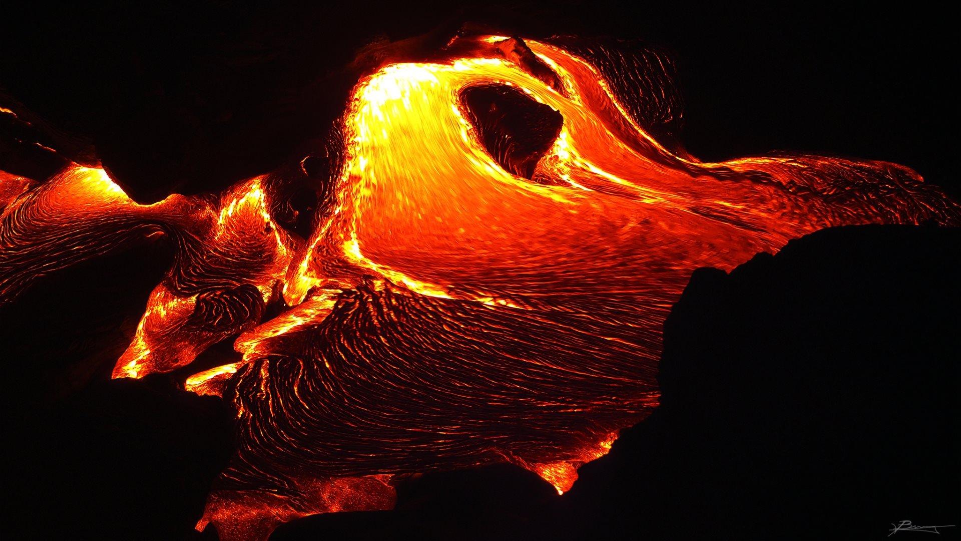 A a lava
