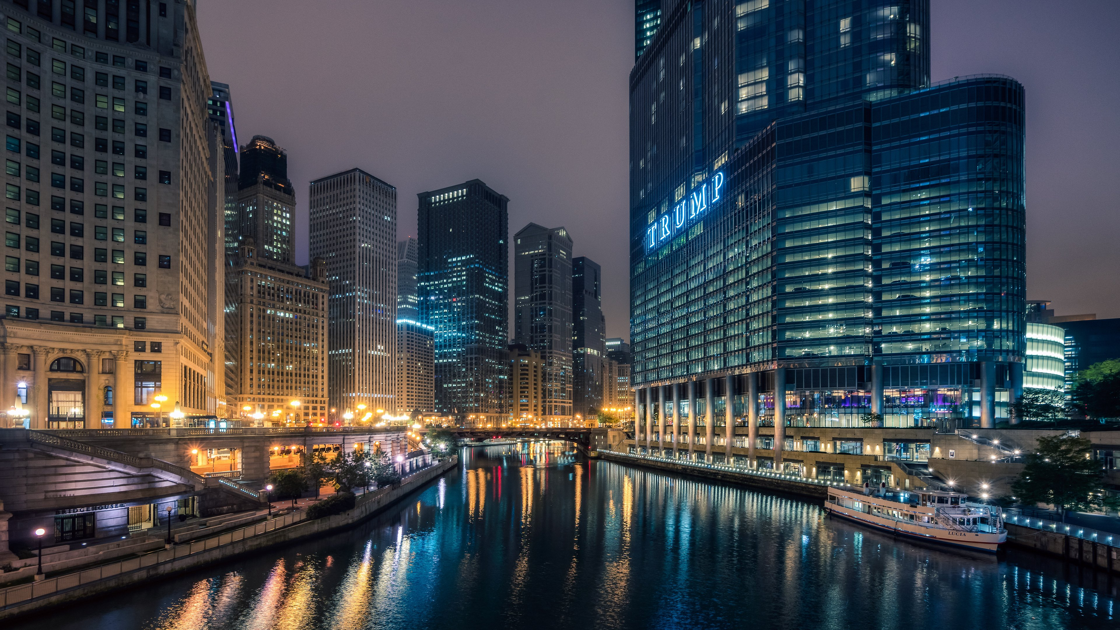 Chicago At Night Wallpaper: Page 8 Of Night Wallpapers And Desktop Backgrounds